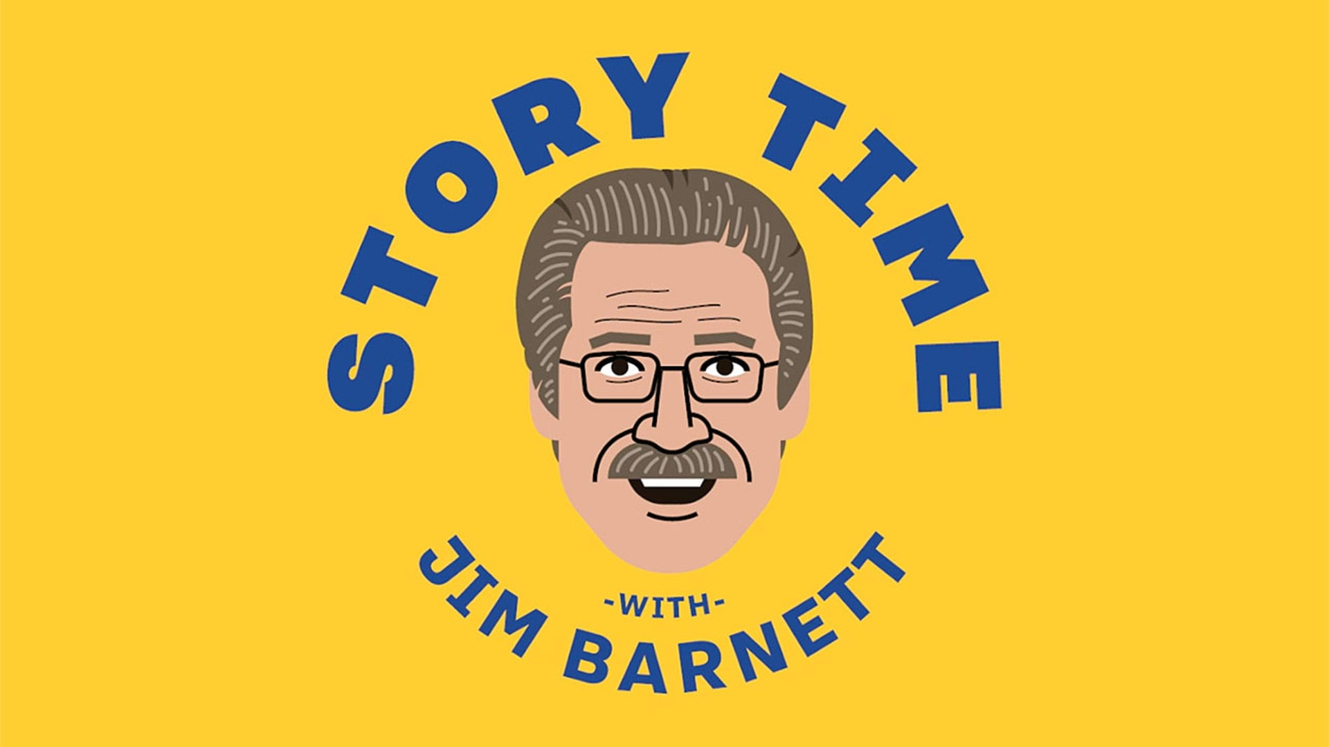 Storytime with Warriors Broadcaster Jim Barnett