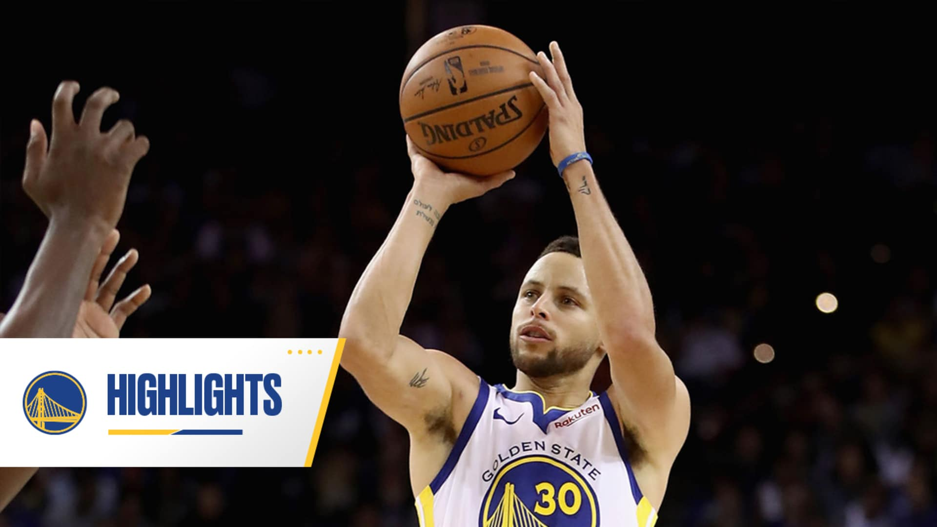 Best of Stephen Curry's No-Look Three-Pointers