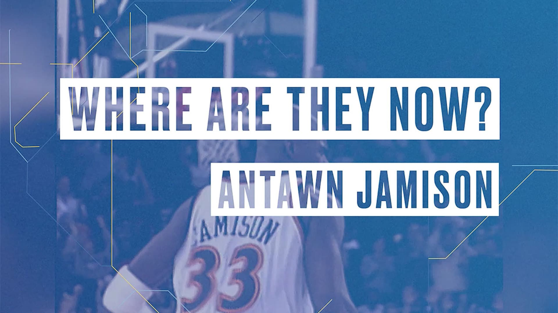 Where Are They Now featuring Antawn Jamison