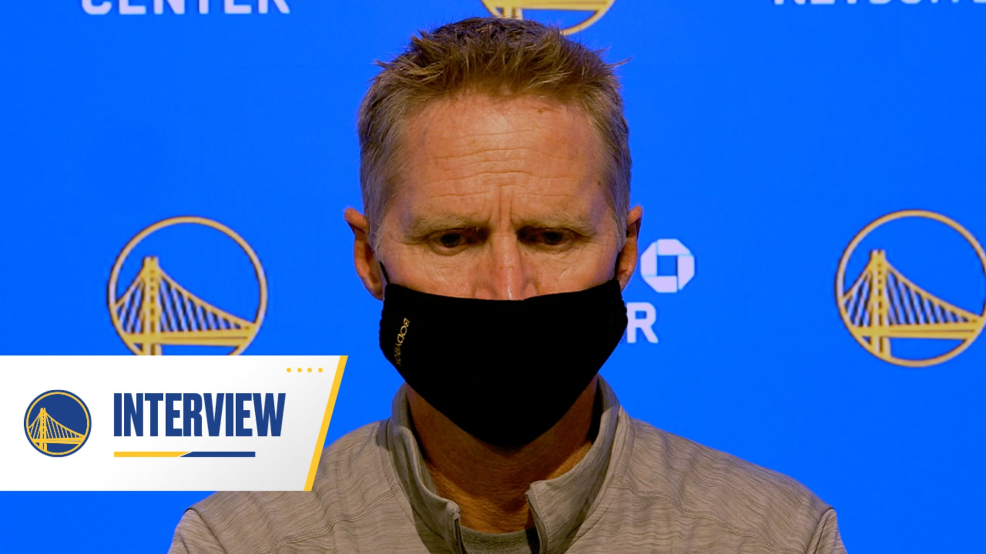 Warriors Talk: Steve Kerr - 10/1/20