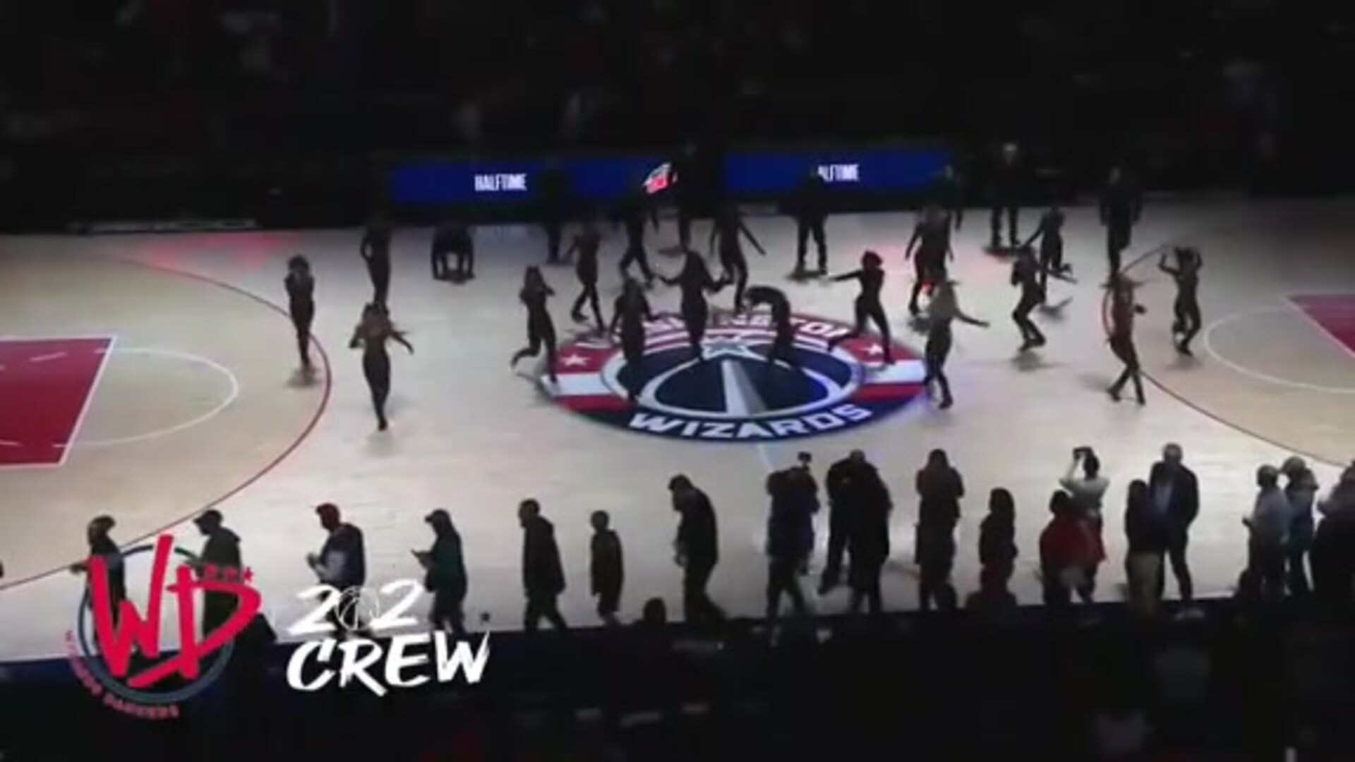 Wizards Dancers and 202 Crew Halftime - 10/30/19