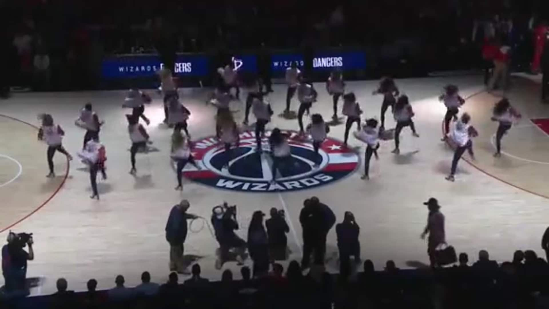 Wizards Dancers - 10/30/19