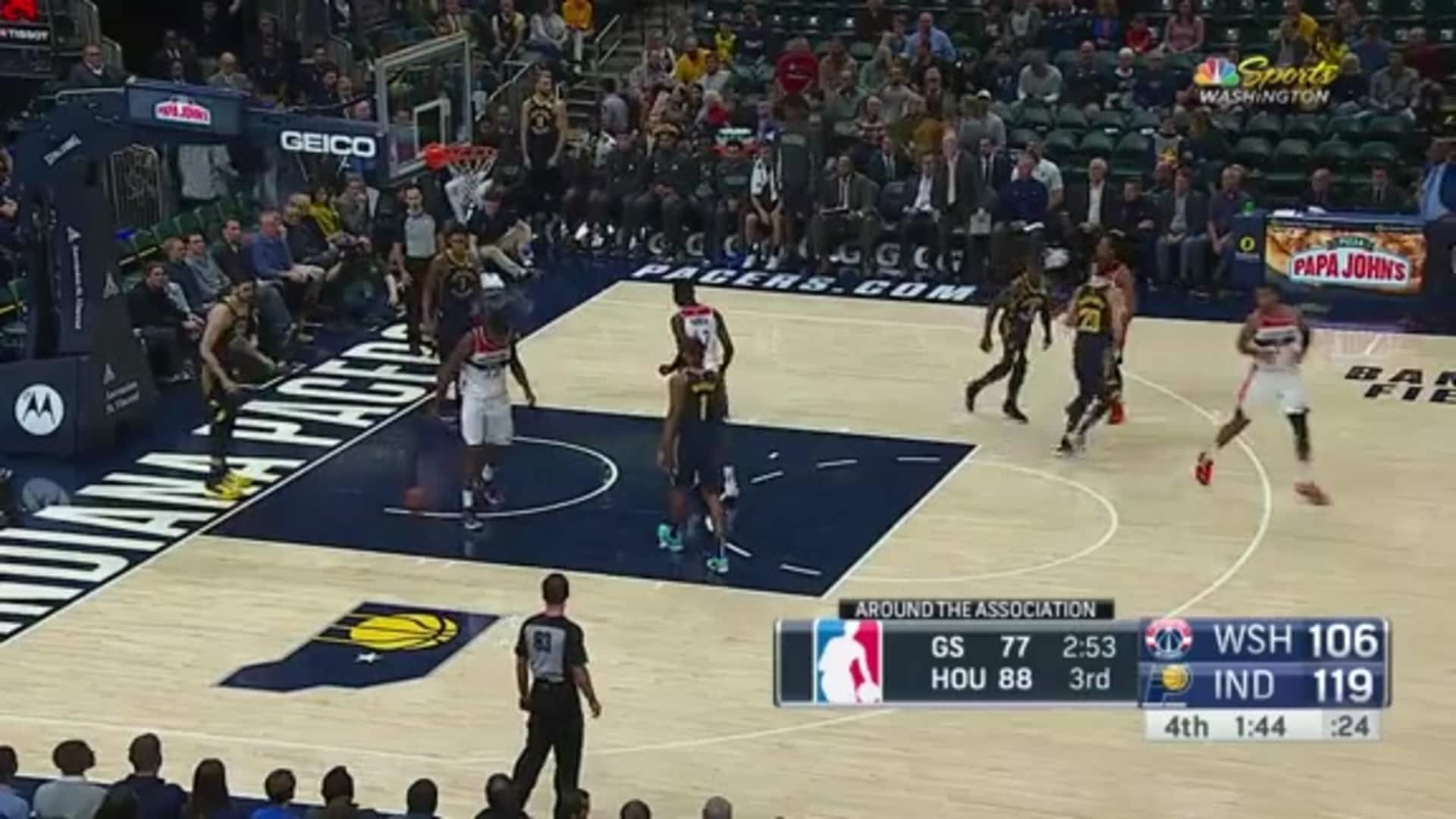Highlights: Wizards vs. Pacers - 11/6/19