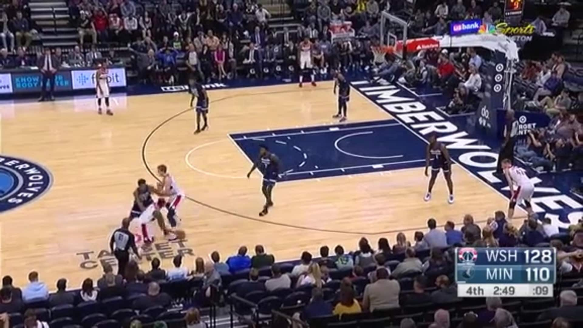 Highlights: Wizards vs. Timberwolves - 11/15/19
