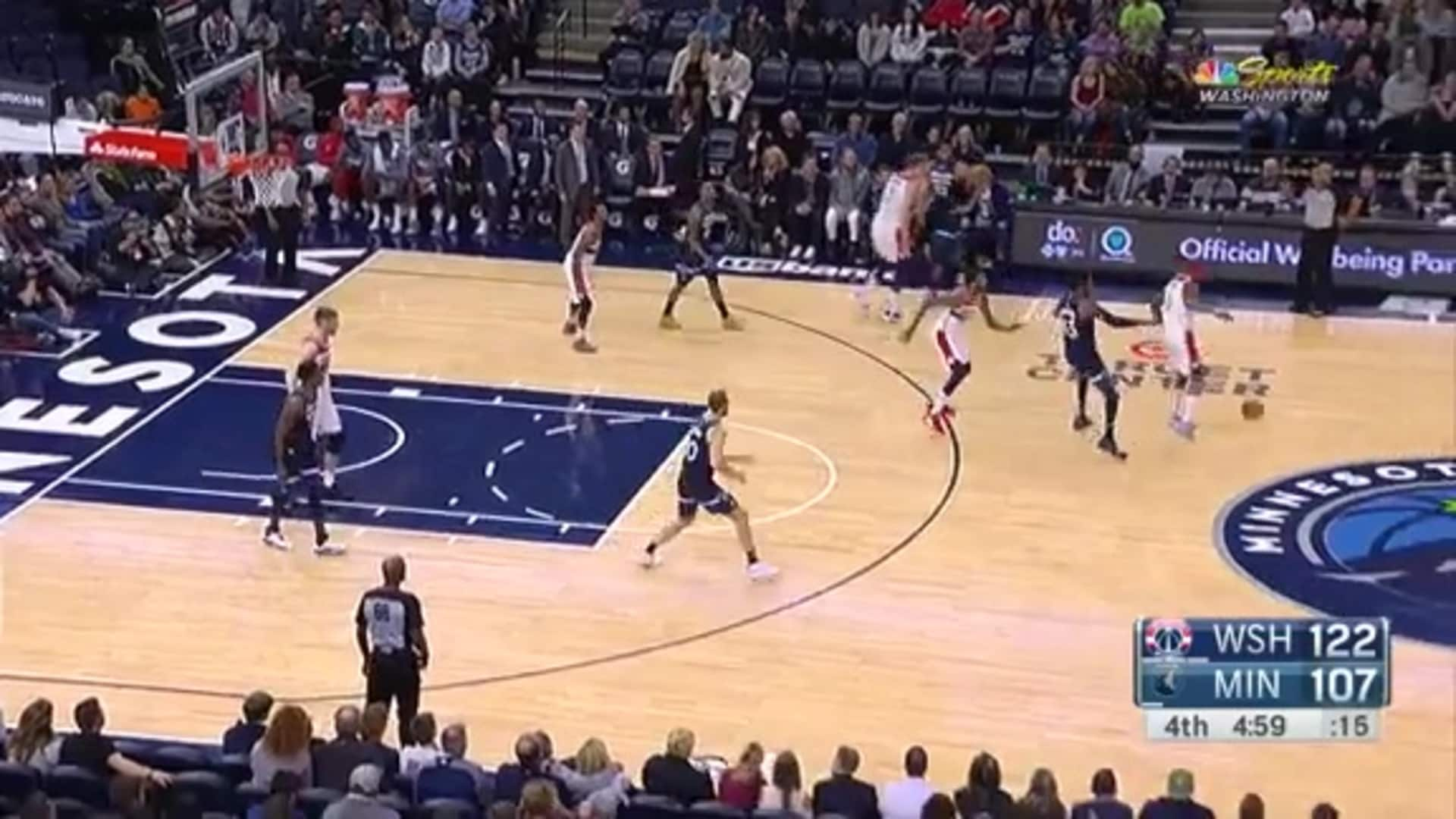 Highlights: Bradley Beal vs. Timberwolves - 11/15/19