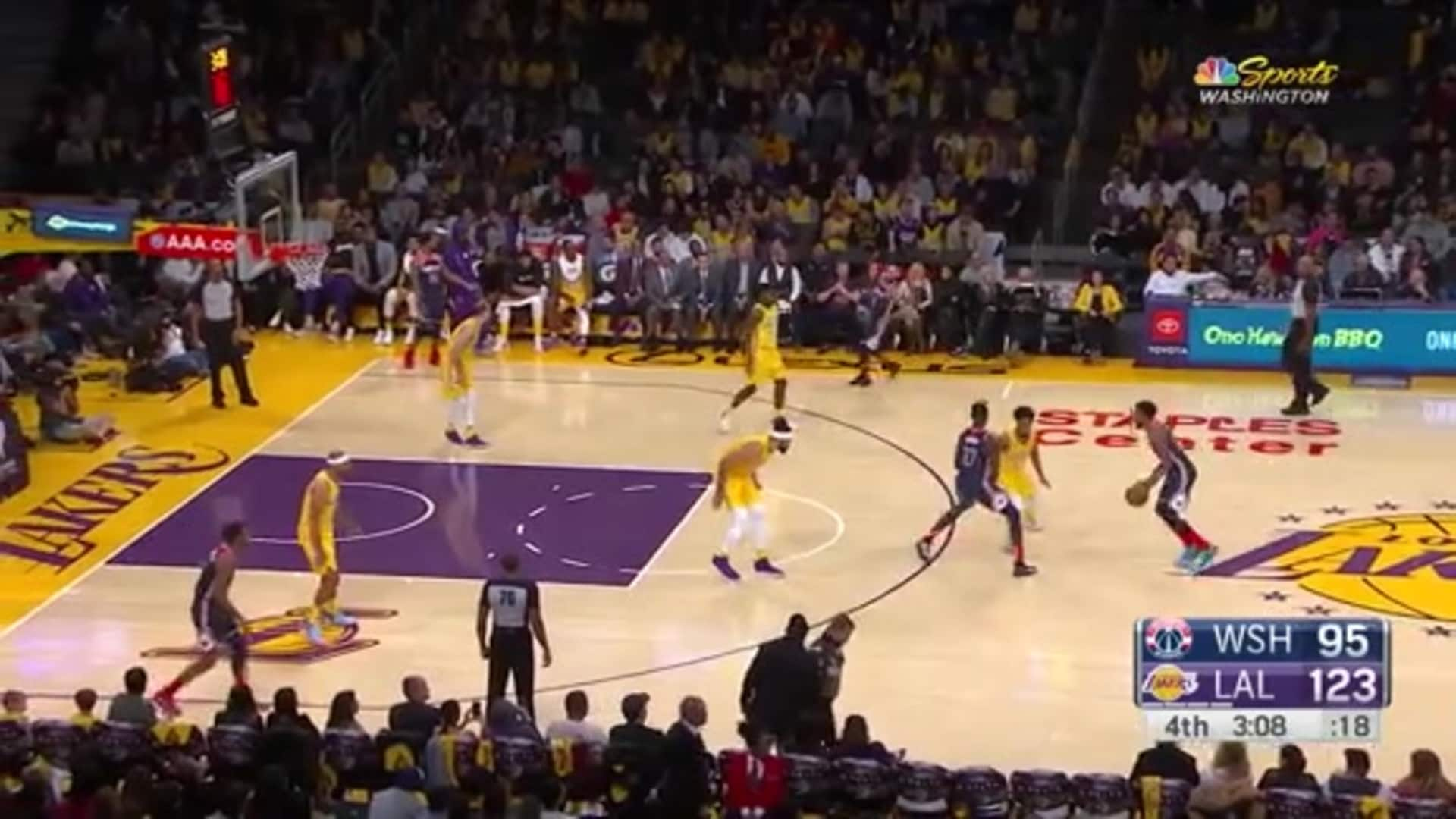 Highlights: Wizards vs. Lakers 11/29/19
