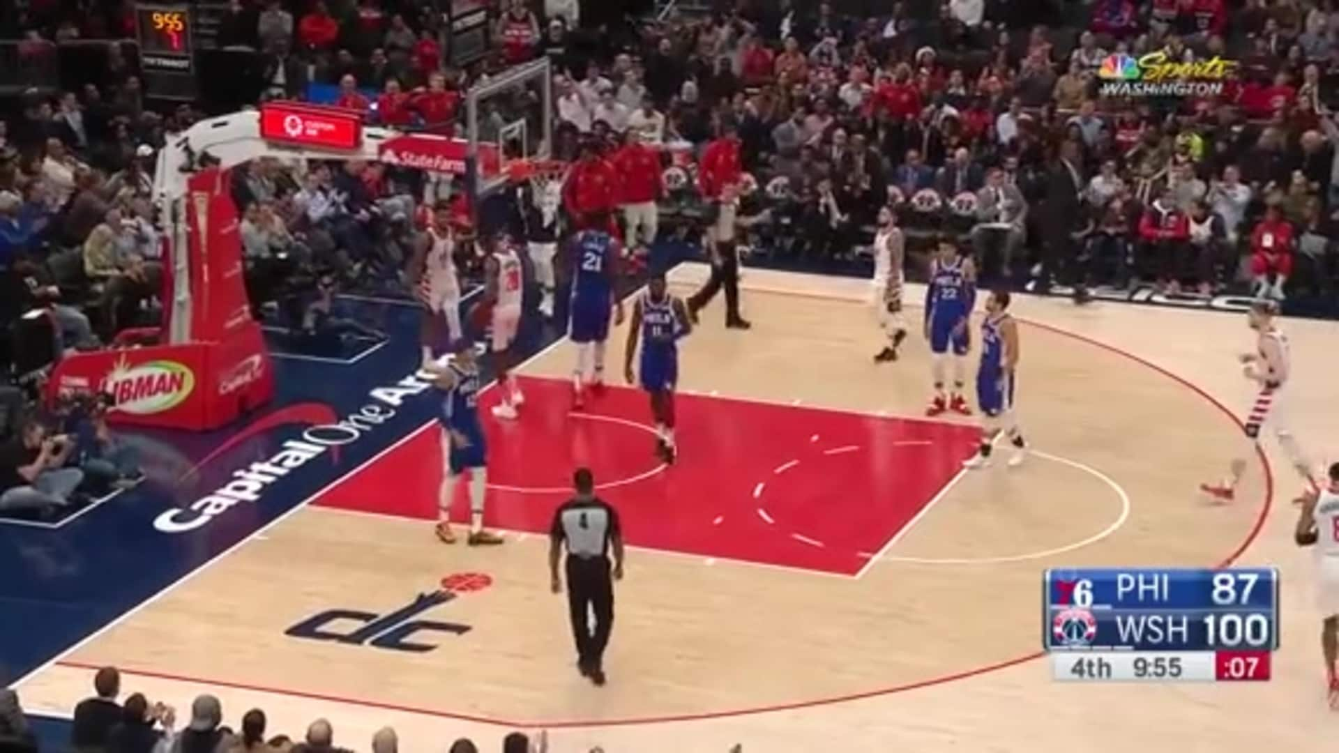 Highlights: Wizards vs. Sixers 12/05/19