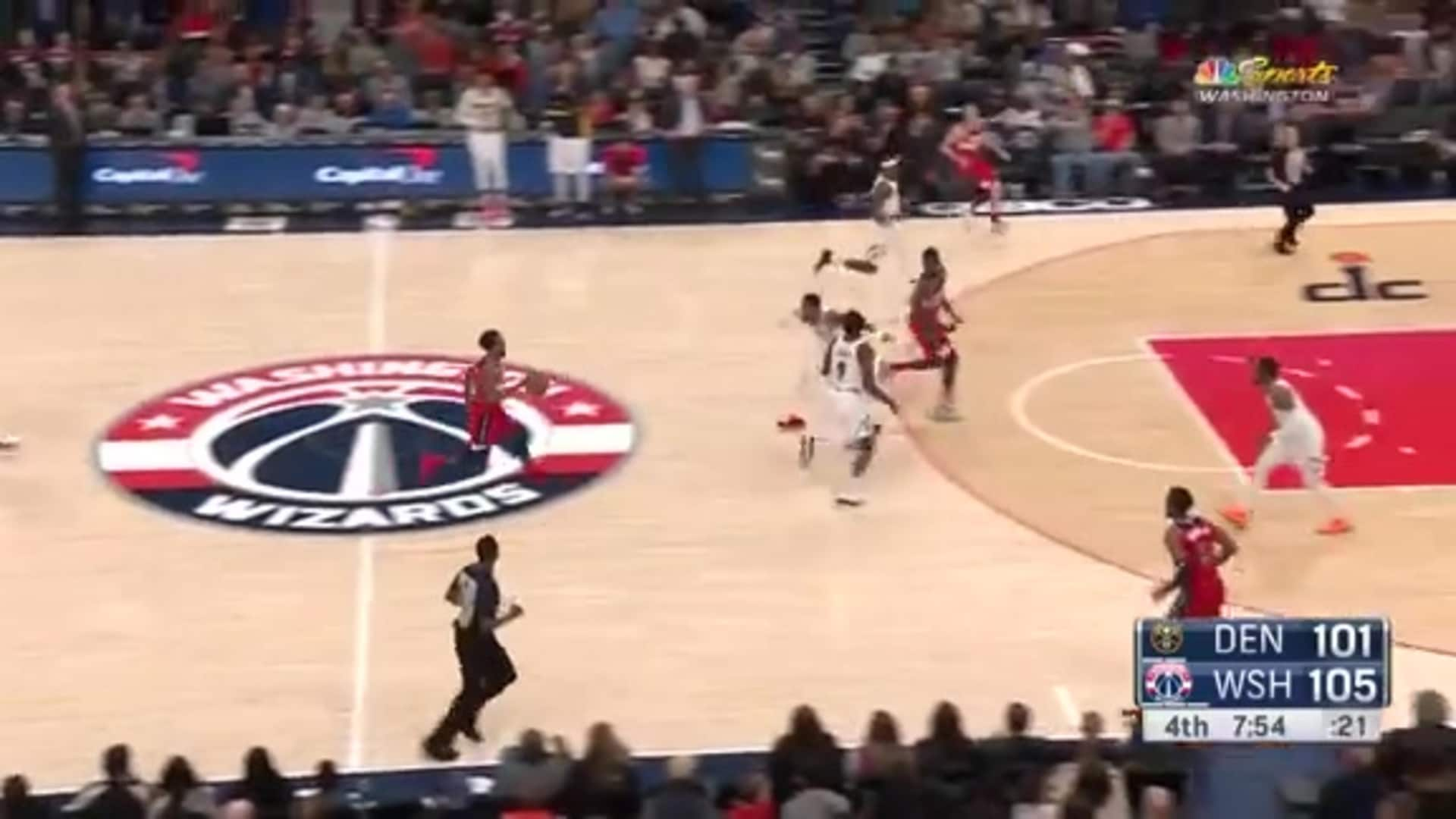 Highlights: Wizards vs. Nuggets - 1/4/20