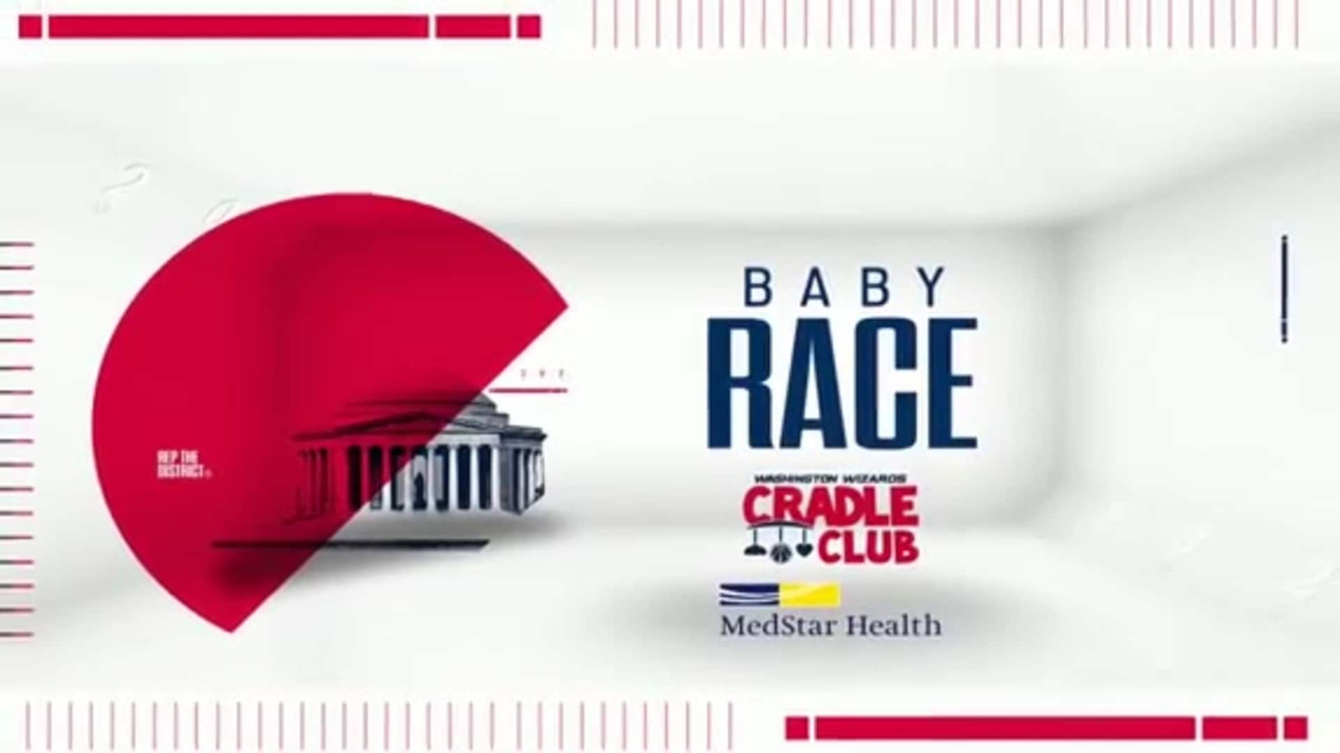 Wizards Kids Day Baby Race - 1/12/20