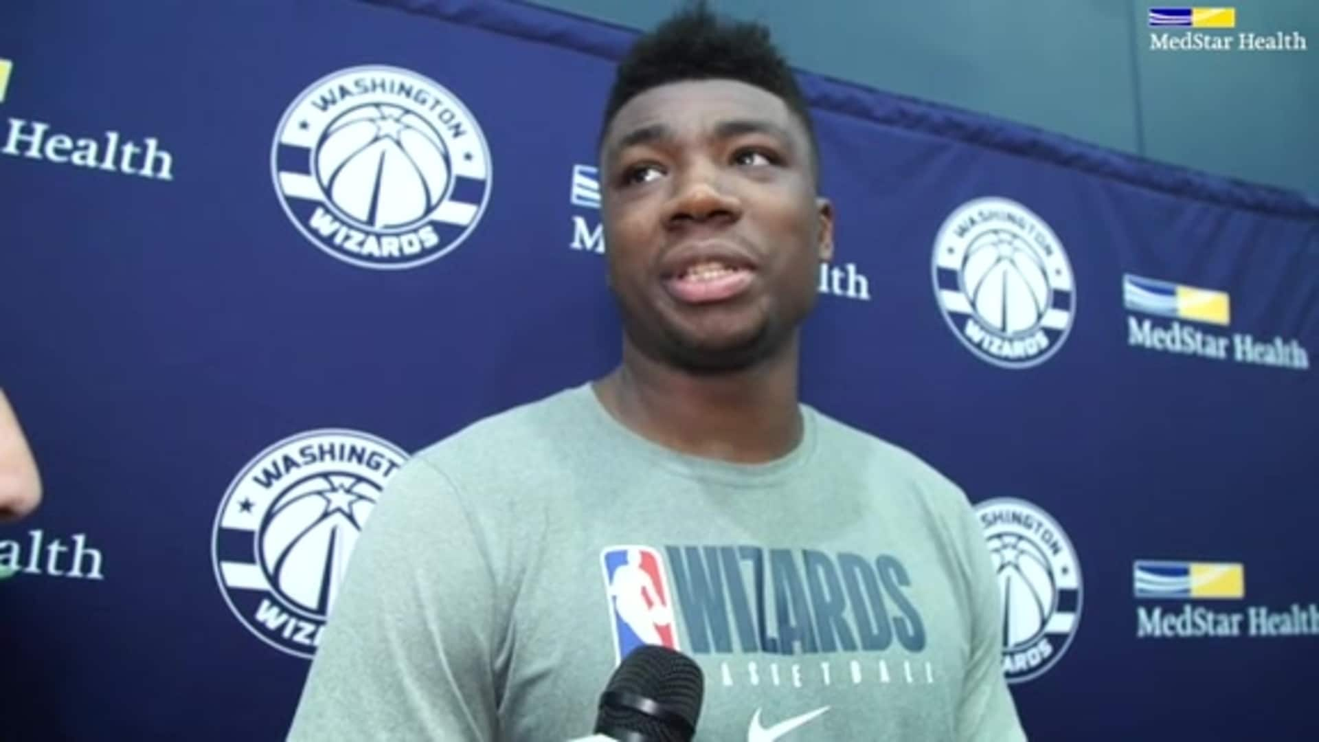 Thomas Bryant Post-Practice - 1/19/20