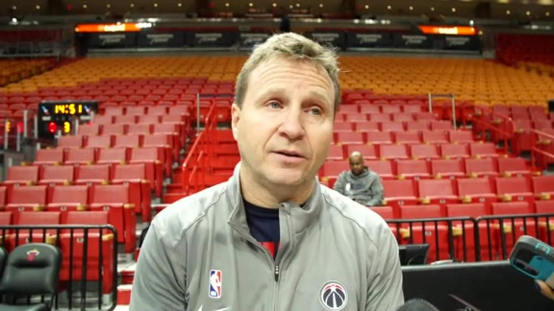 Scott Brooks Shootaround - 1/22/20