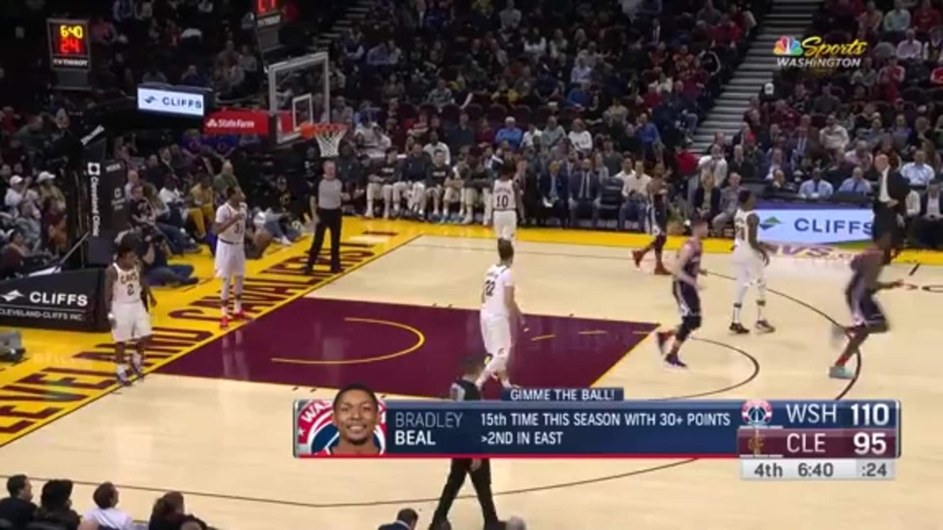Highlights: Wizards vs. Cavaliers - 1/23/20