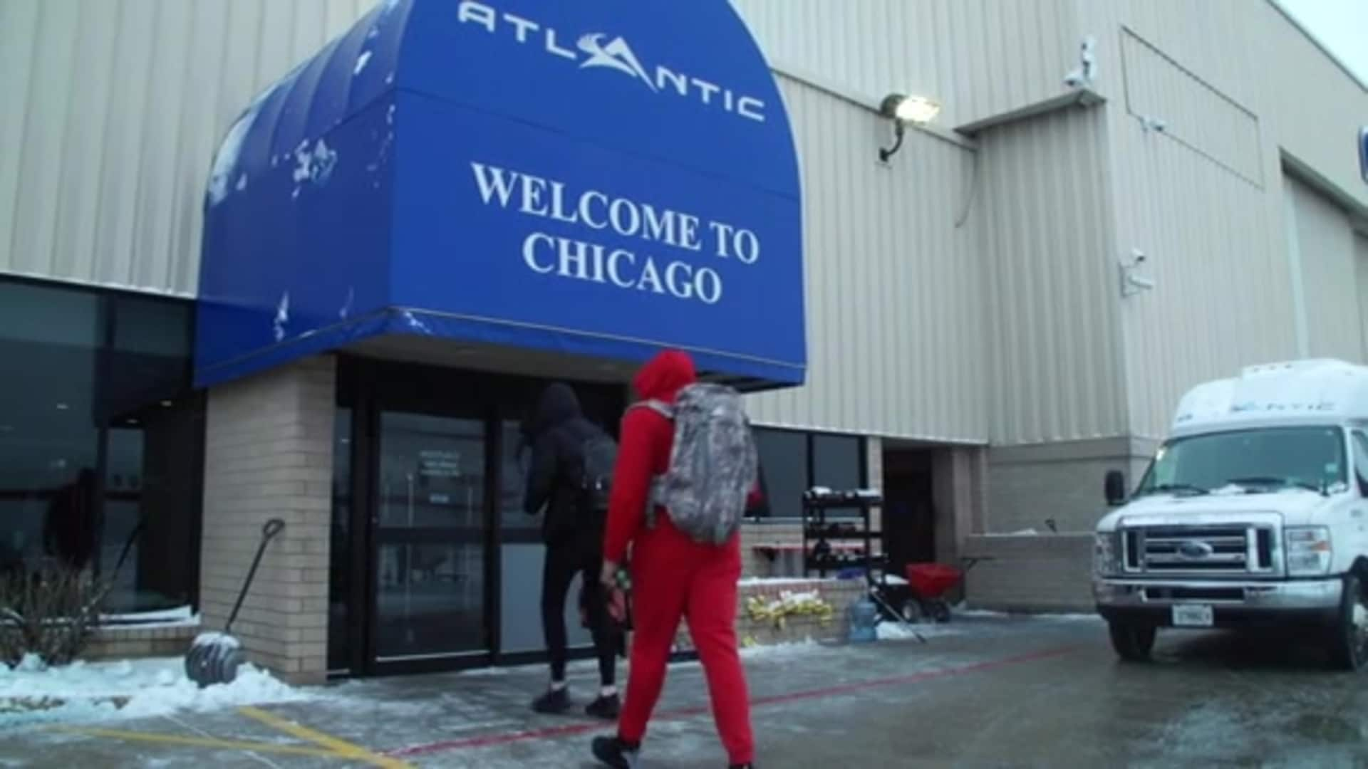 Wizards arrive in Chicago for 2020 NBA All-Star