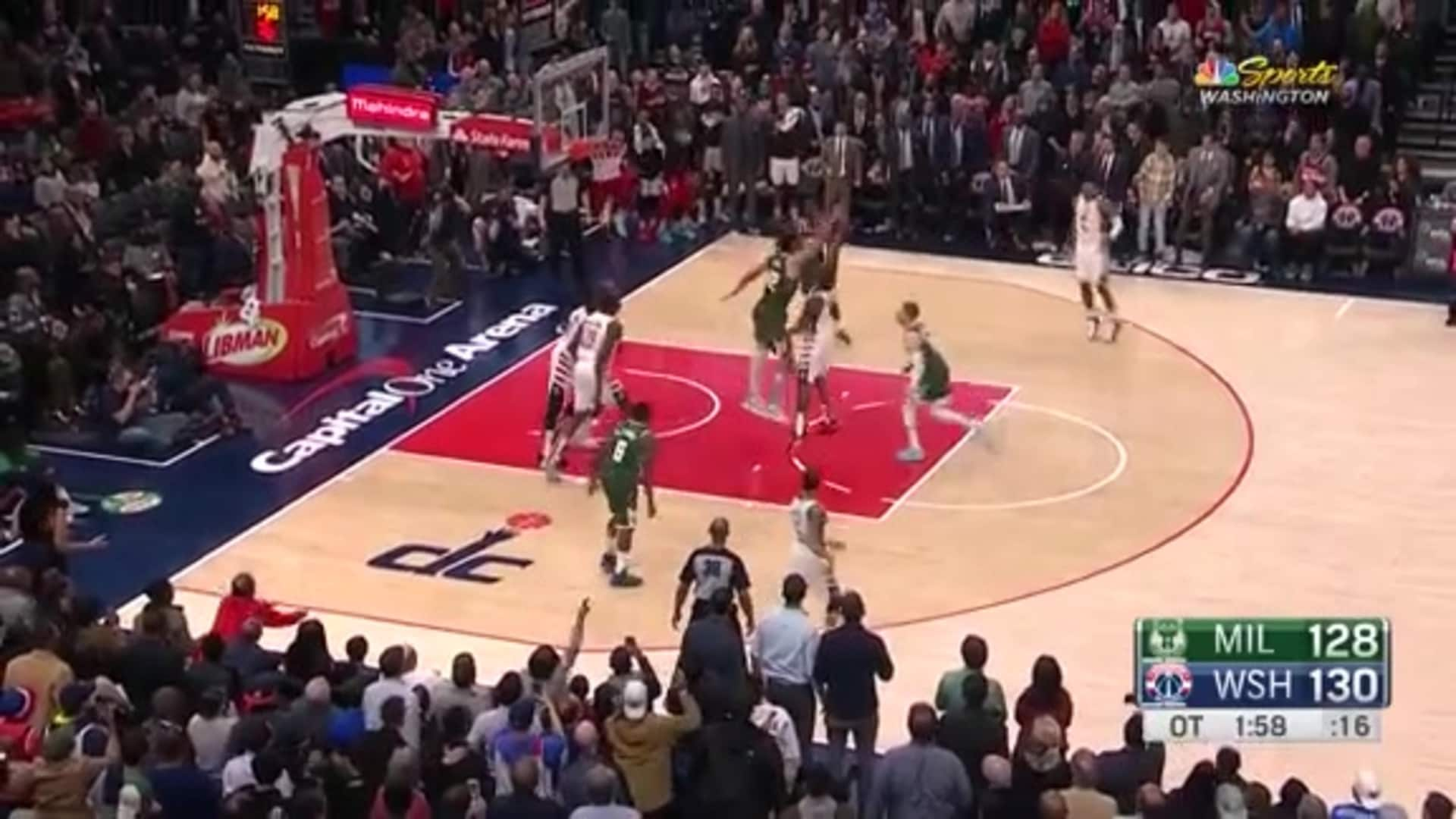 Highlights: Bradley Beal Career-High vs. Bucks - 02/24/20