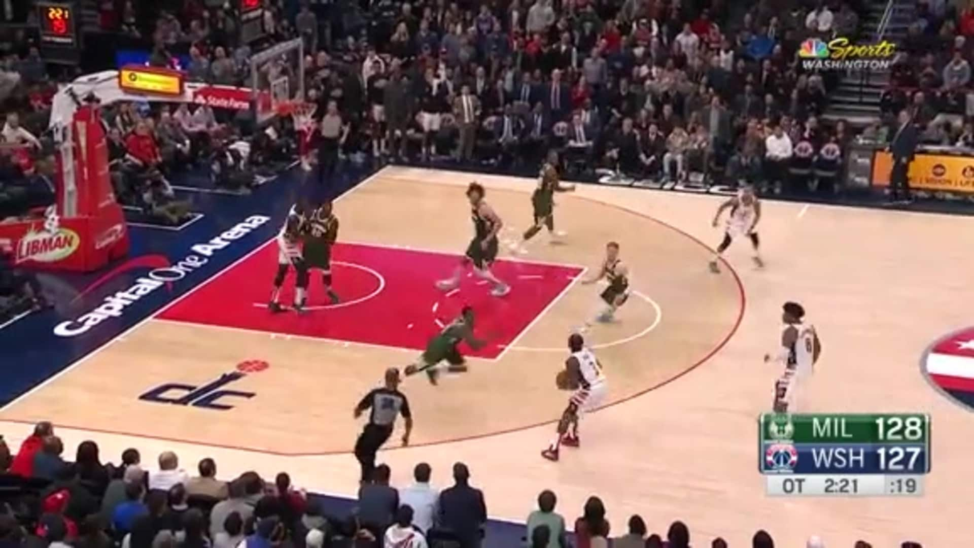 Highlights: Wizards vs. Bucks - 02/24/20