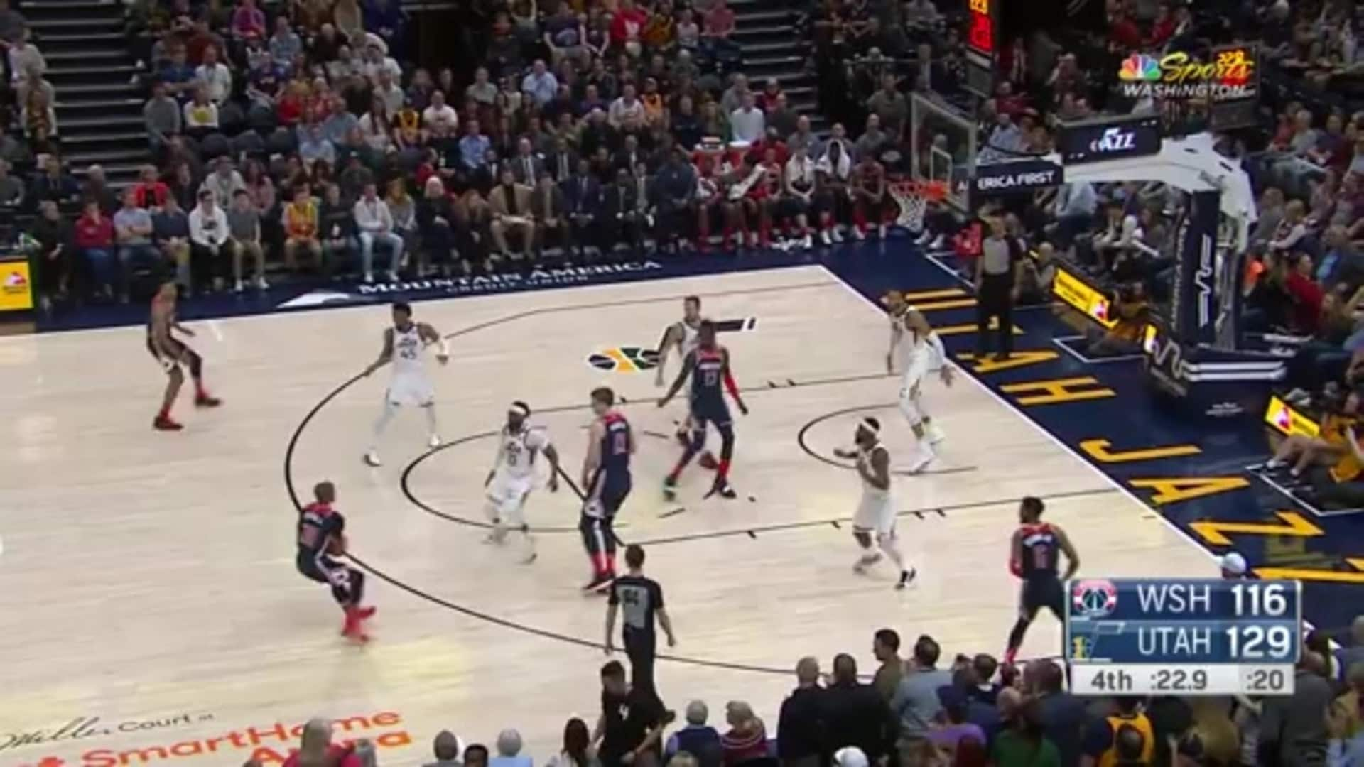 Highlights: Wizards vs. Jazz - 02/28/20