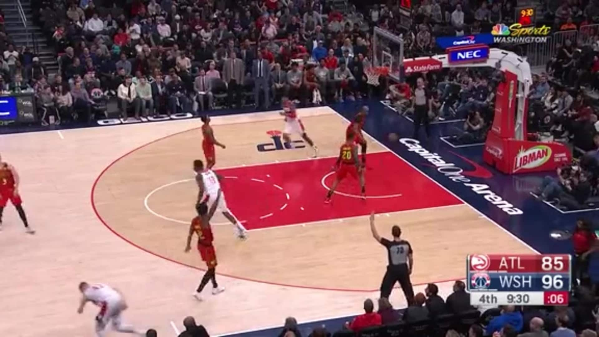 Highlights: Wizards vs. Hawks- 03/06/20