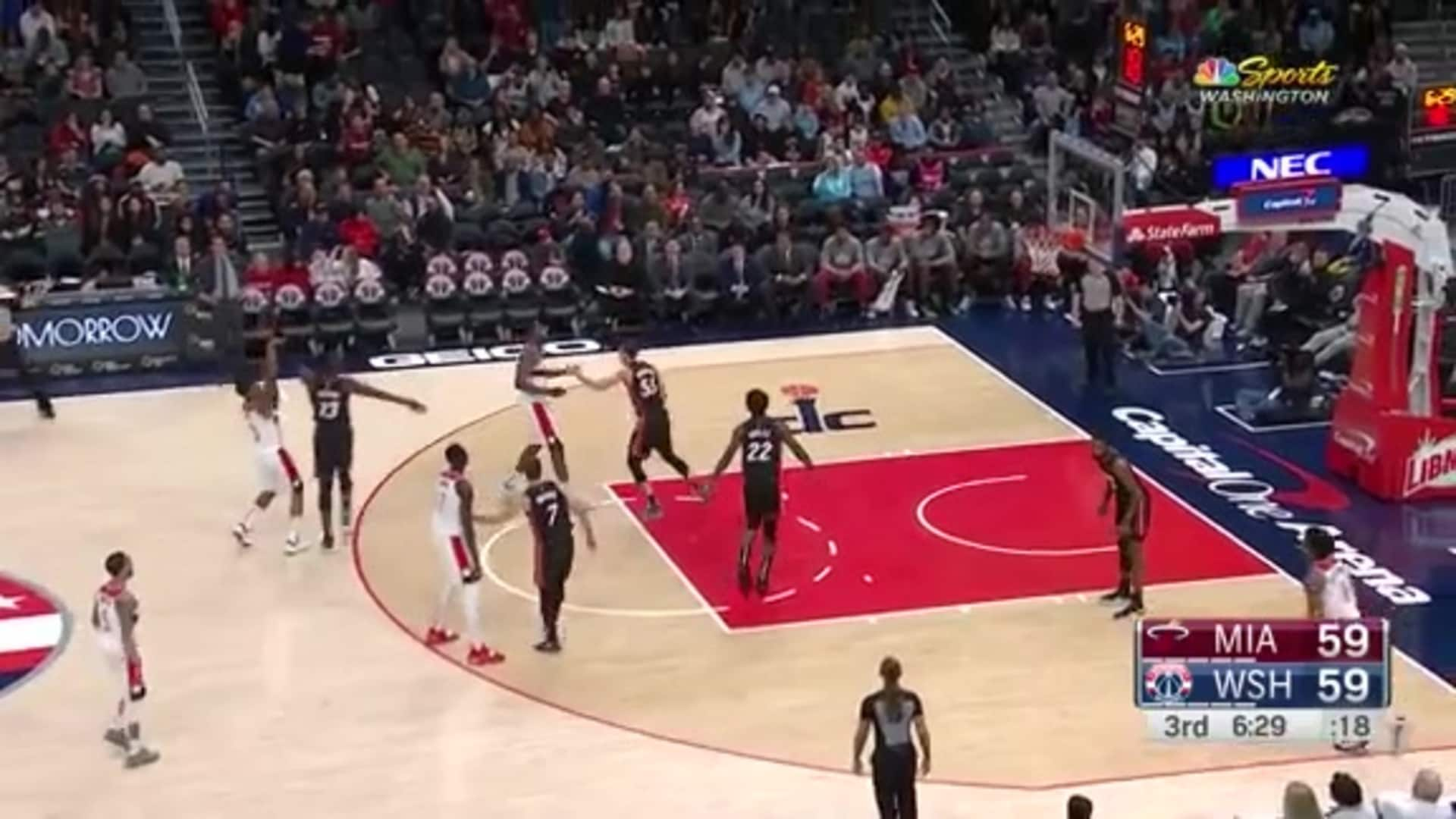 Highlights: Bradley Beal vs. Heat- 03/08/20