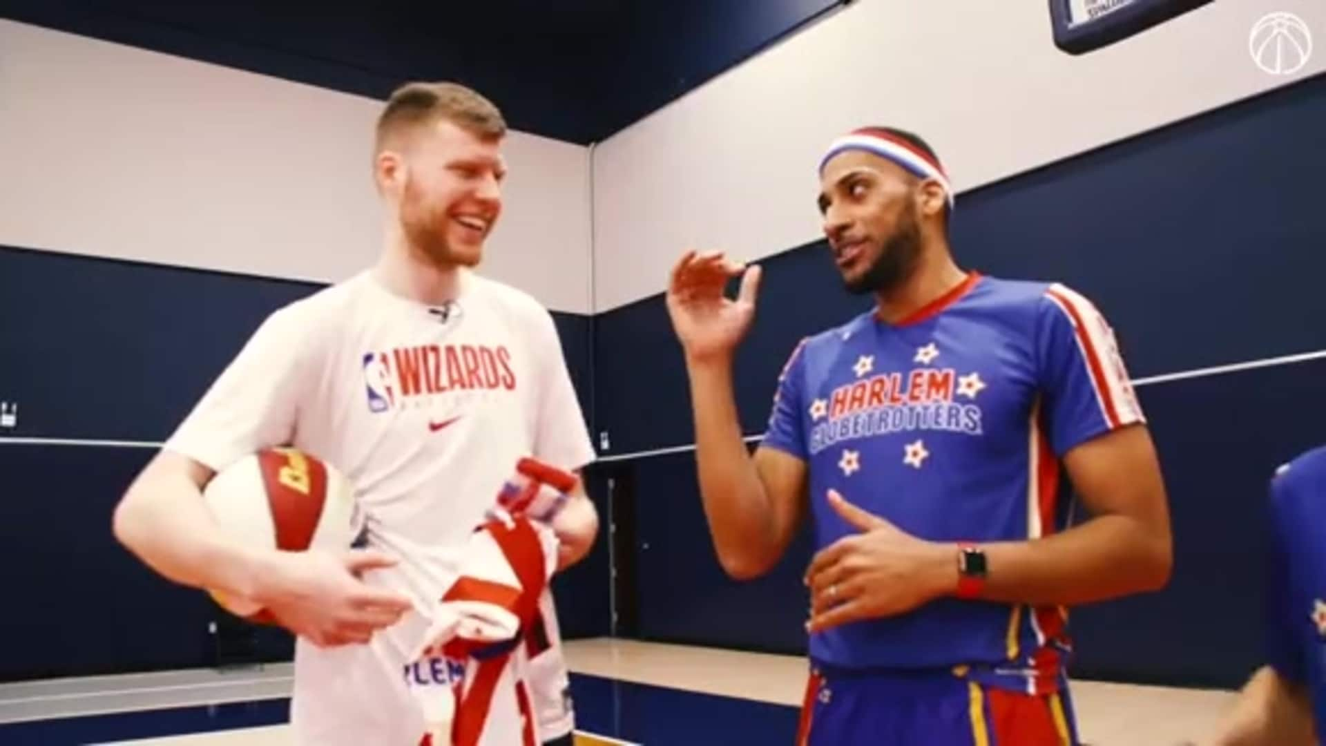 Wizards Featured: Davis Bertans and the Harlem Globetrotters - 3/11/20