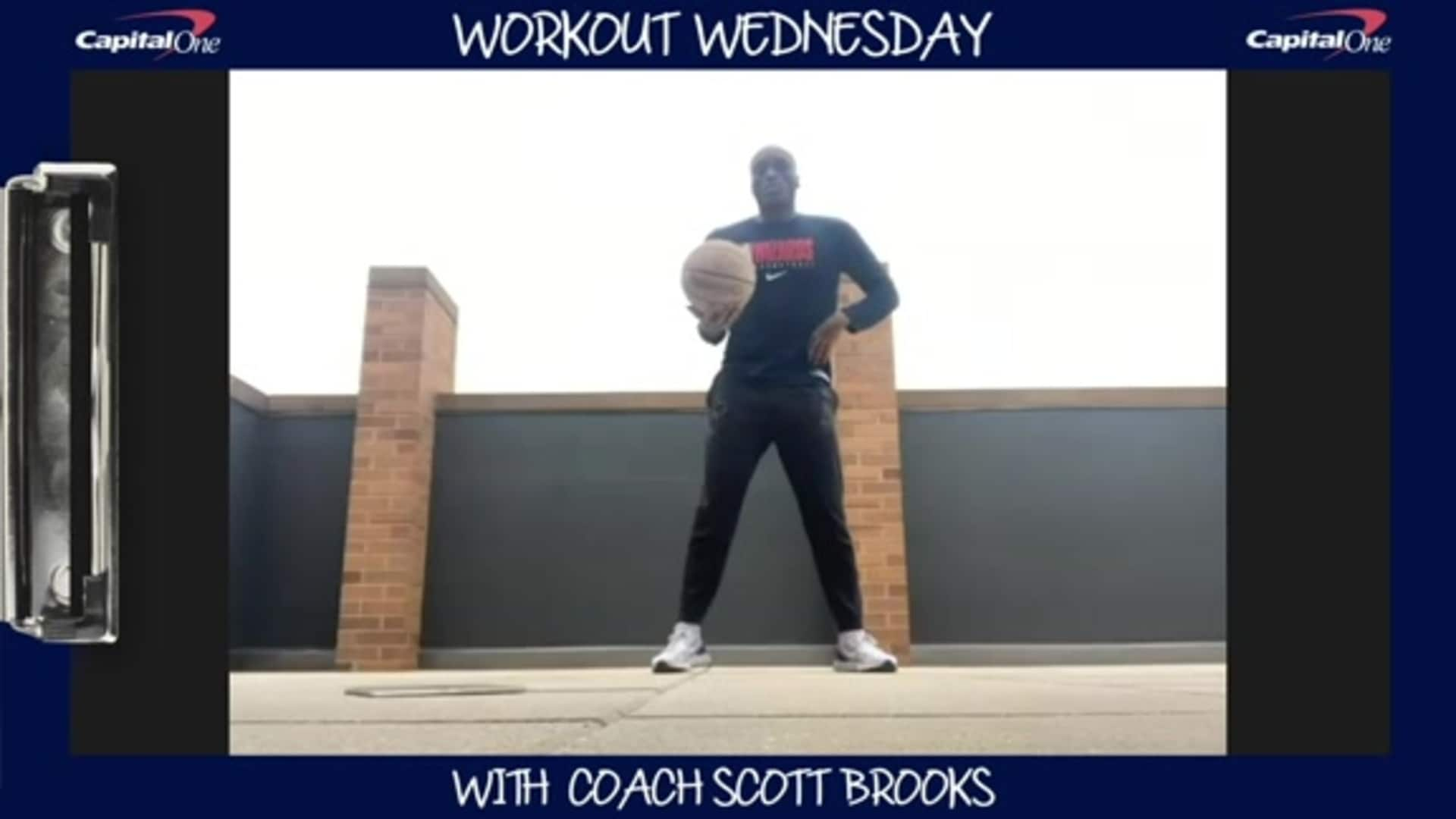 Coach Scott Brooks' Workout Wednesdays presented by Capital One - 5/6/30