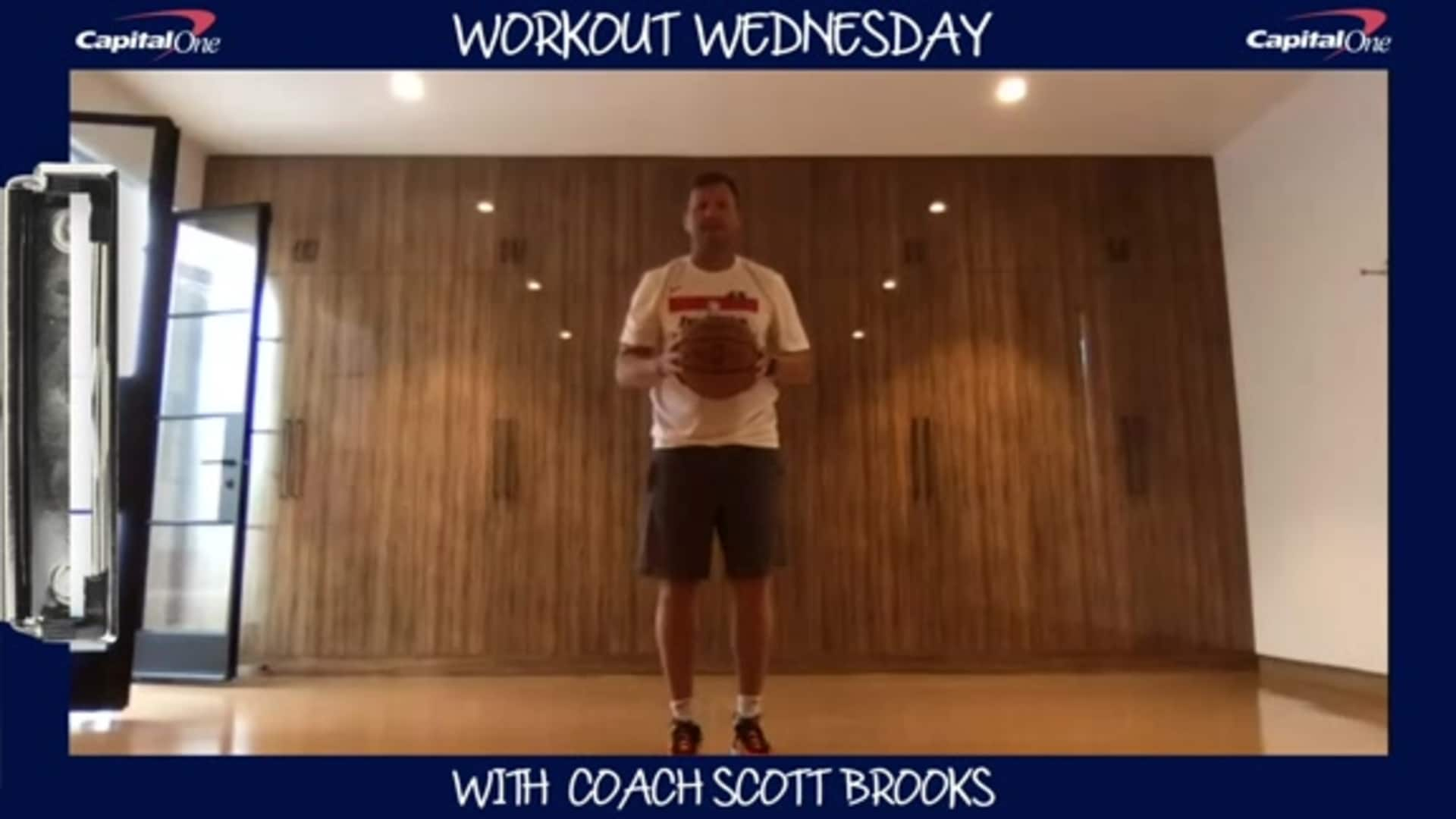 Coach Scott Brooks' Workout Wednesdays presented by Capital One - 5/13/20