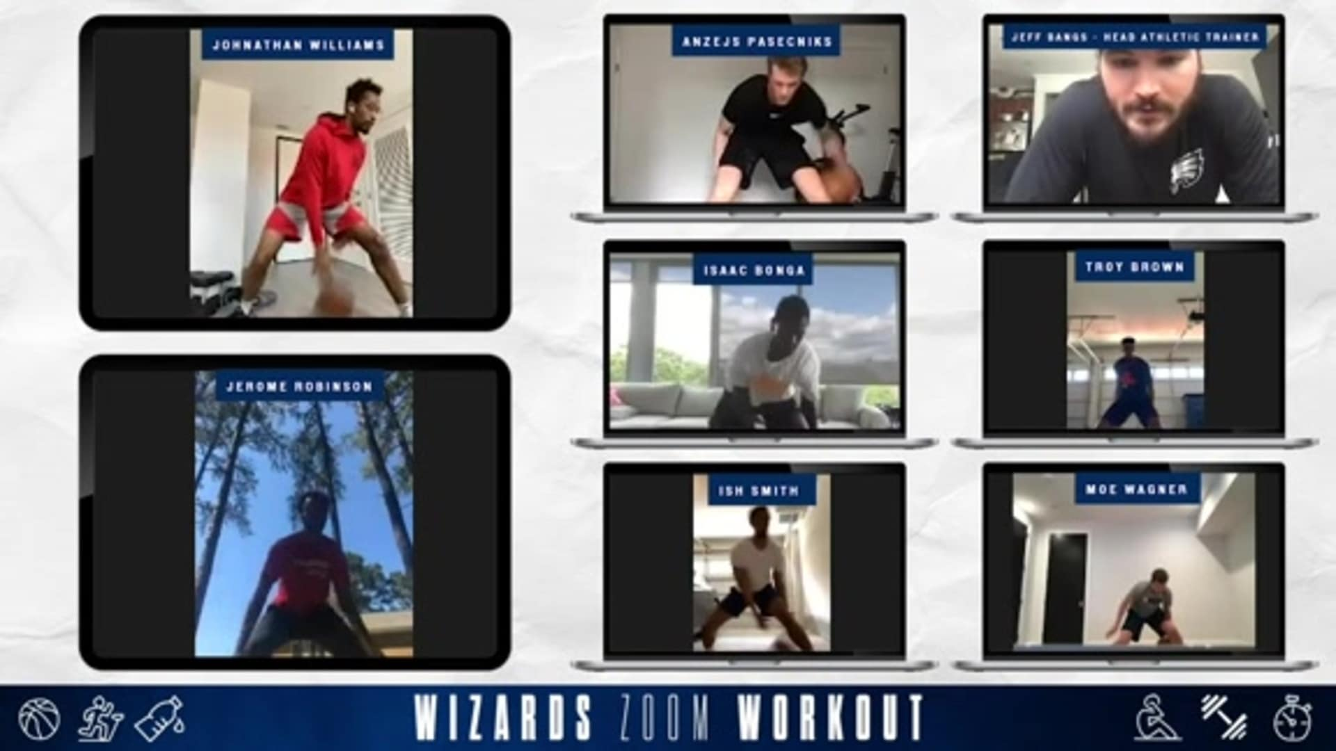Wizards Zoom Workouts: Ball-Handling Competition - 5/15/20