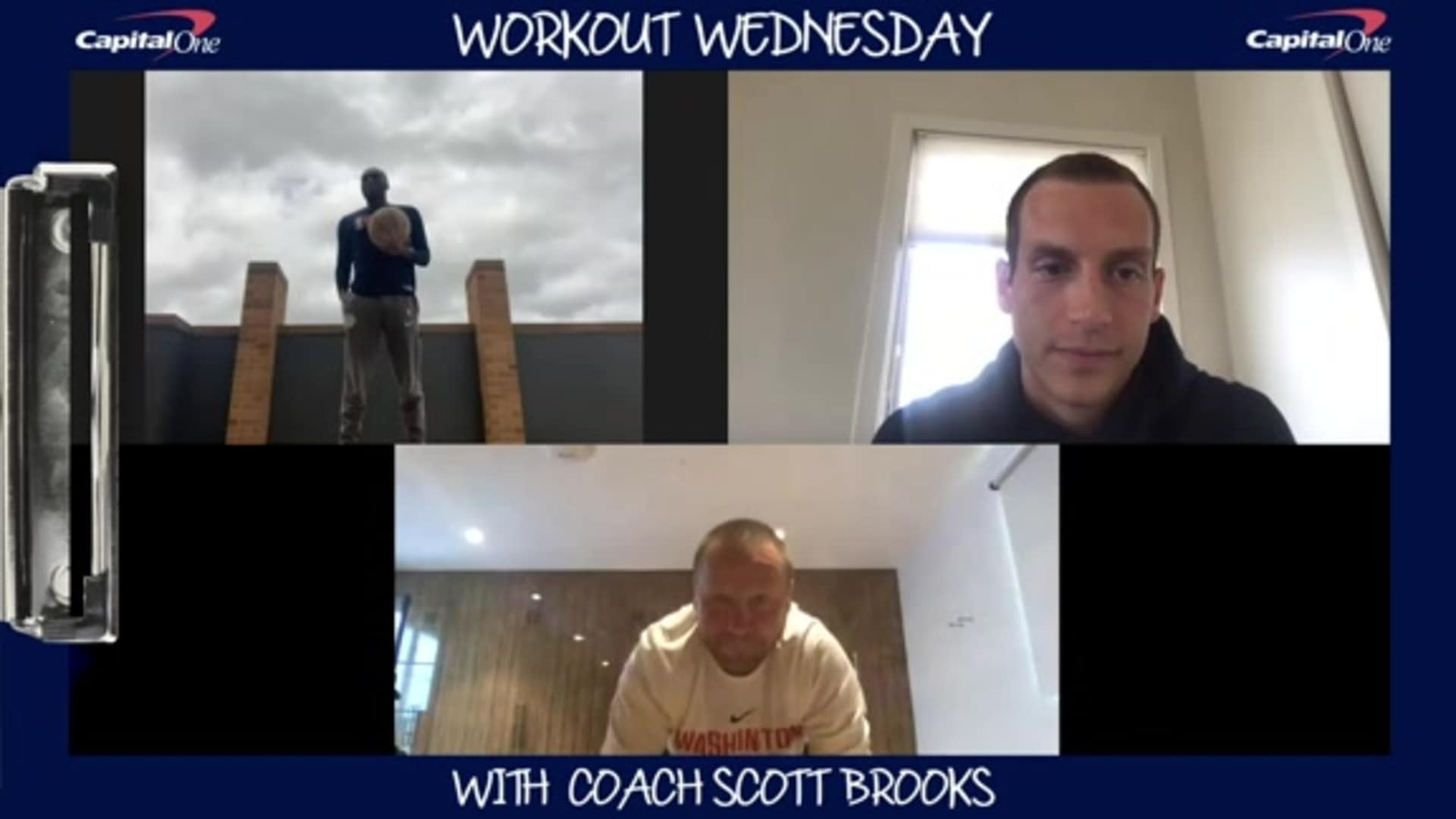 Coach Scott Brooks' Workout Wednesdays presented by Capital One - 5/20/20