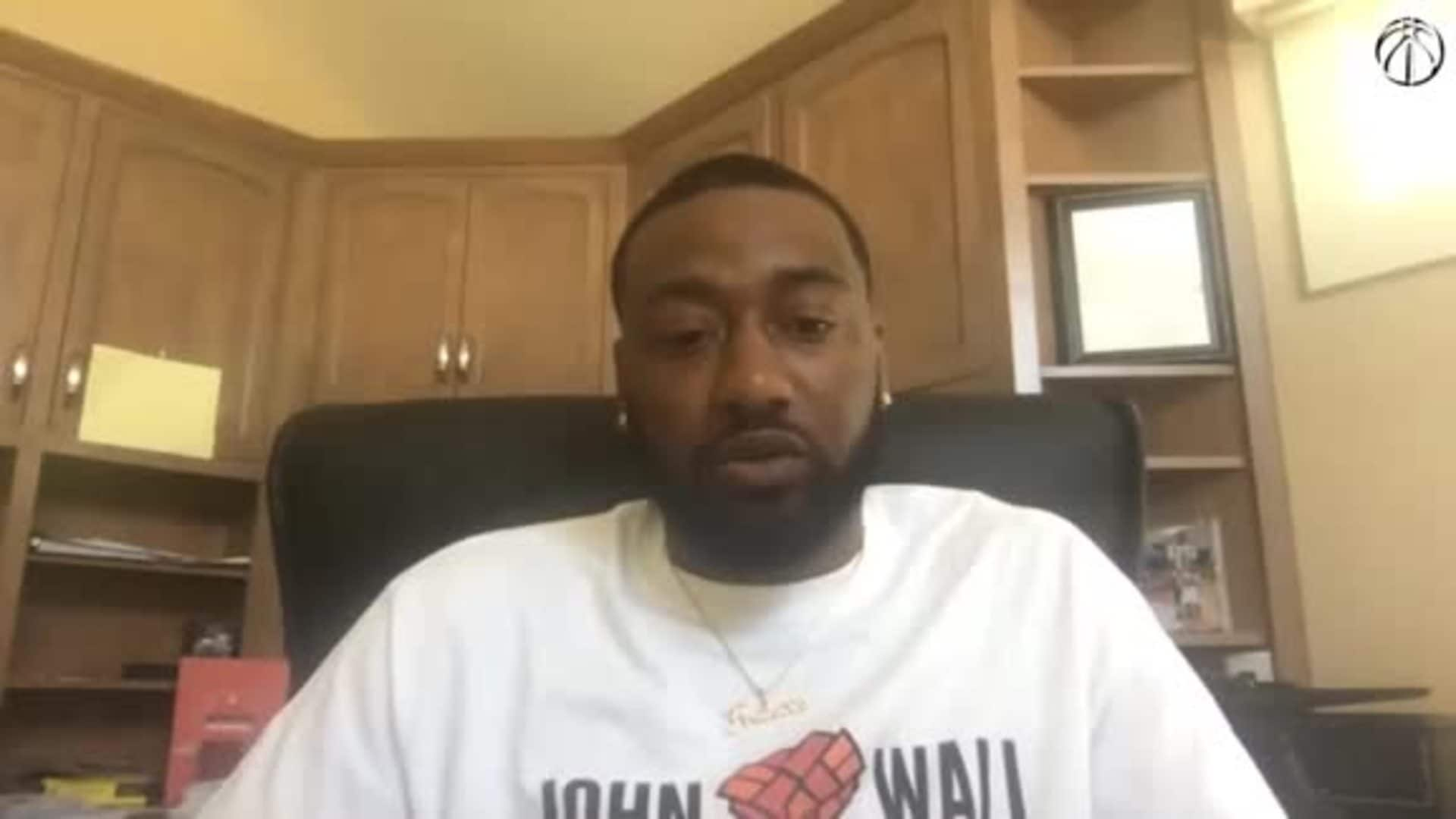 John Wall '202 Assist' Media Availability - 5/26/20