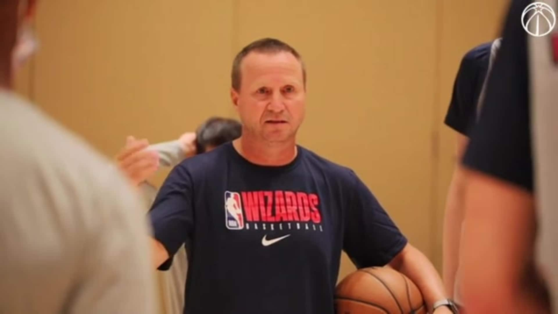 Scott Brooks' speech to team before first practice - 7/9/20