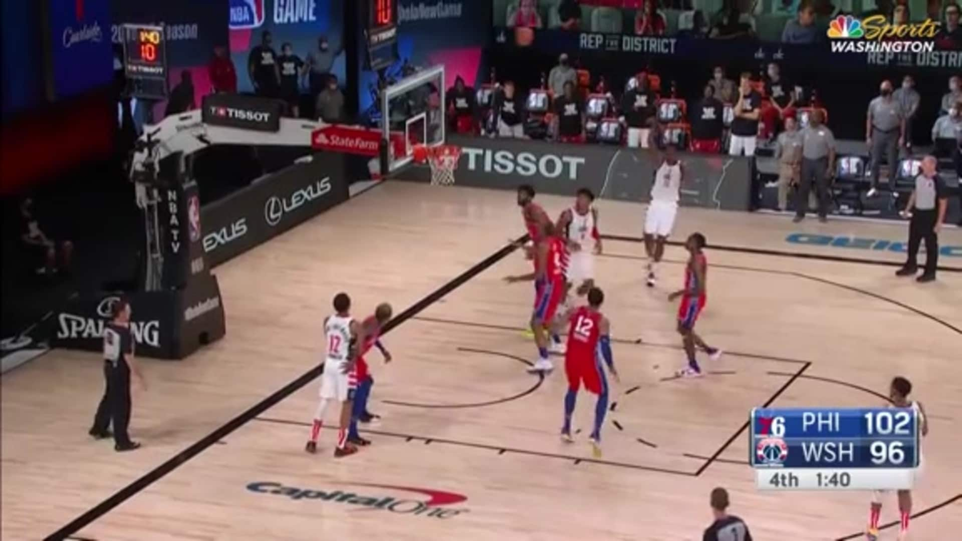 Highlights: Thomas Bryant vs. Sixers - 08/05/20