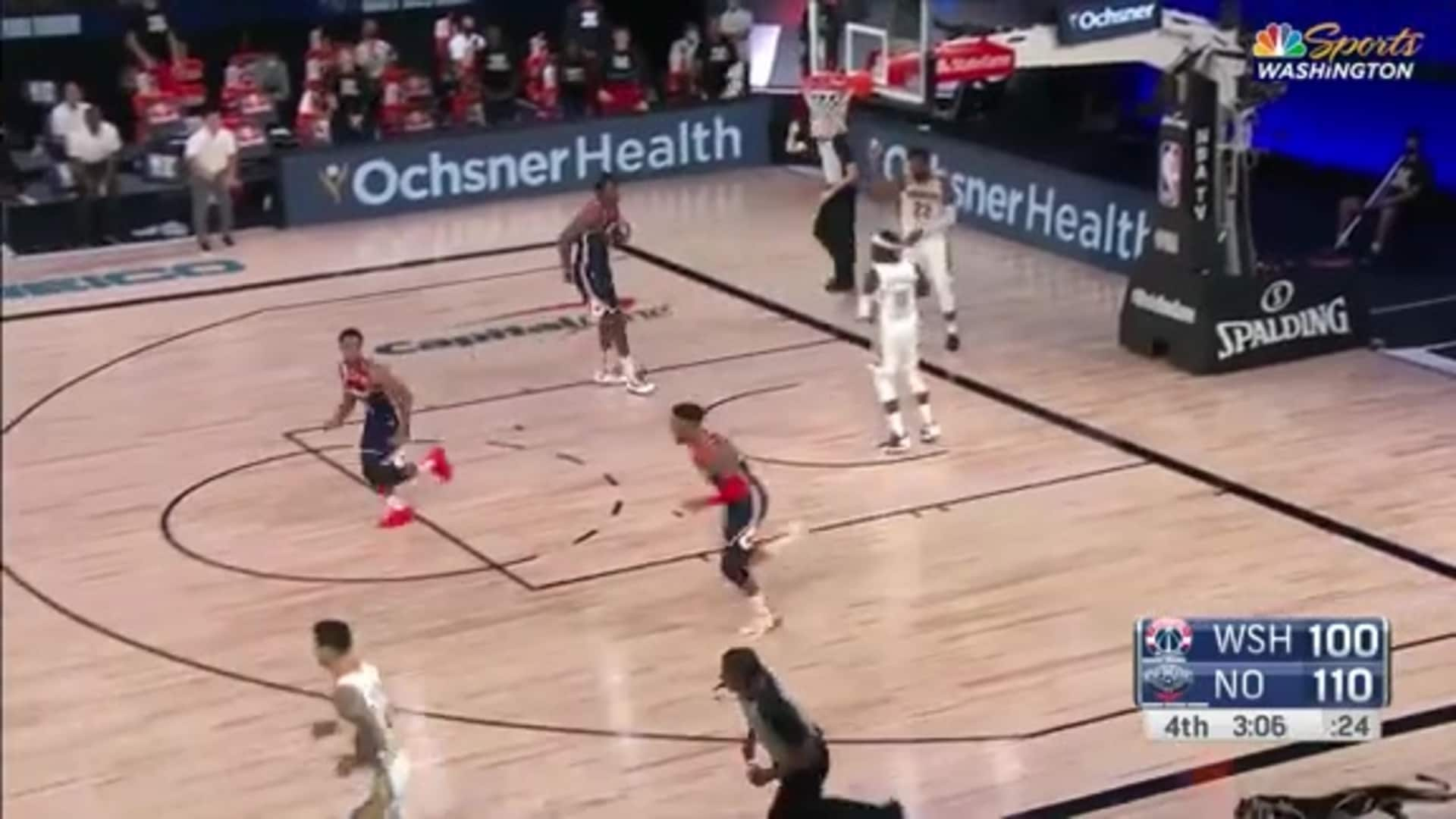 Highlights: Troy Brown Jr. vs. Pelicans - 08/07/20