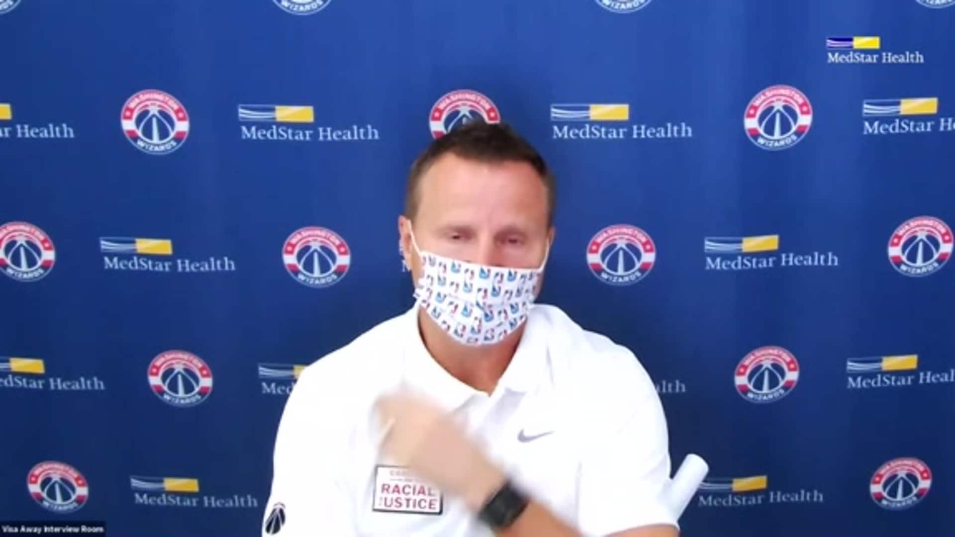 Scott Brooks Postgame - 8/7/20