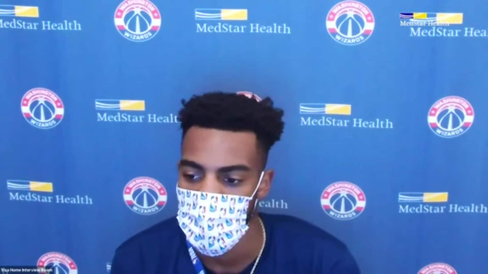 Troy Brown Jr. Post-Practice - 8/12/20