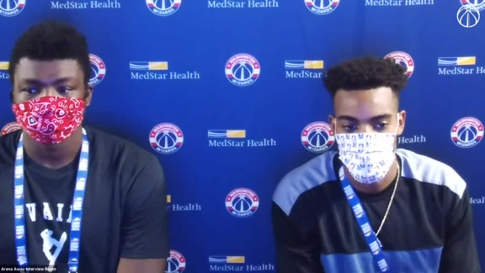 Troy Brown Jr. Postgame - 8/13/20