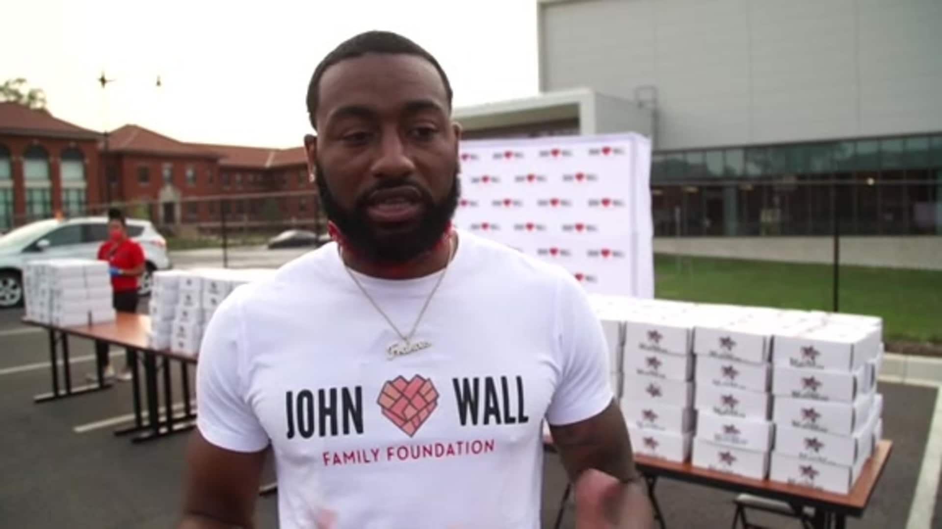 John Wall Family Foundation 7th Annual Back-to-School Giveaway - 9/14/20