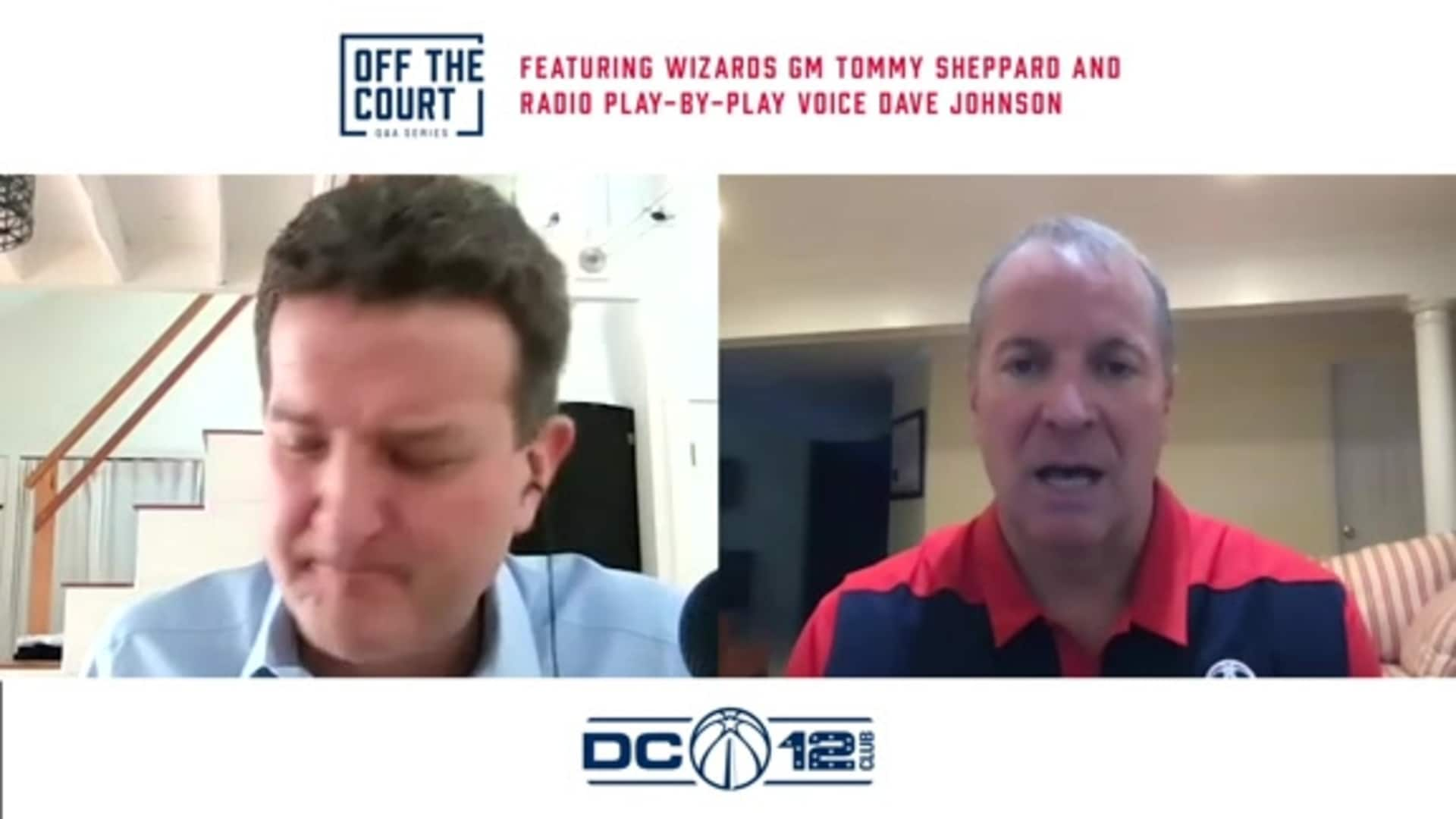 DC 12 Club Off the Court Series: Tommy Sheppard