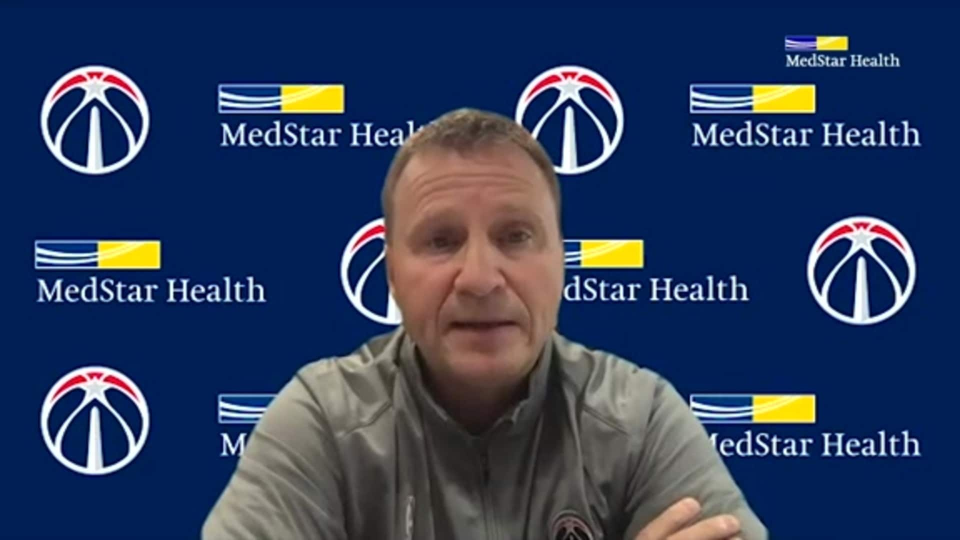 Tommy Sheppard/Scott Brooks Media Availability - 12/4/20