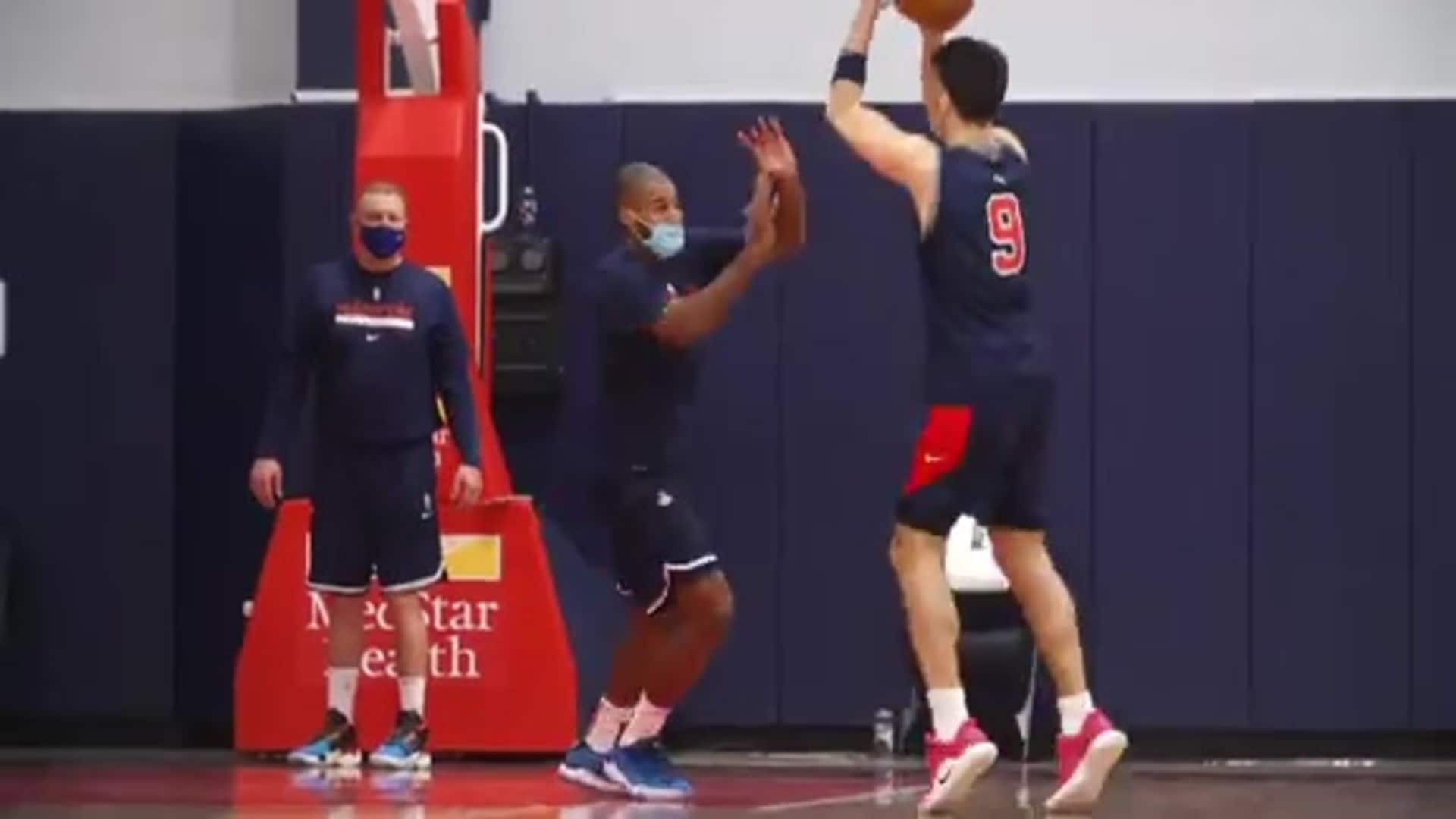 Wizards Training Camp Day 2 - 12/5/20