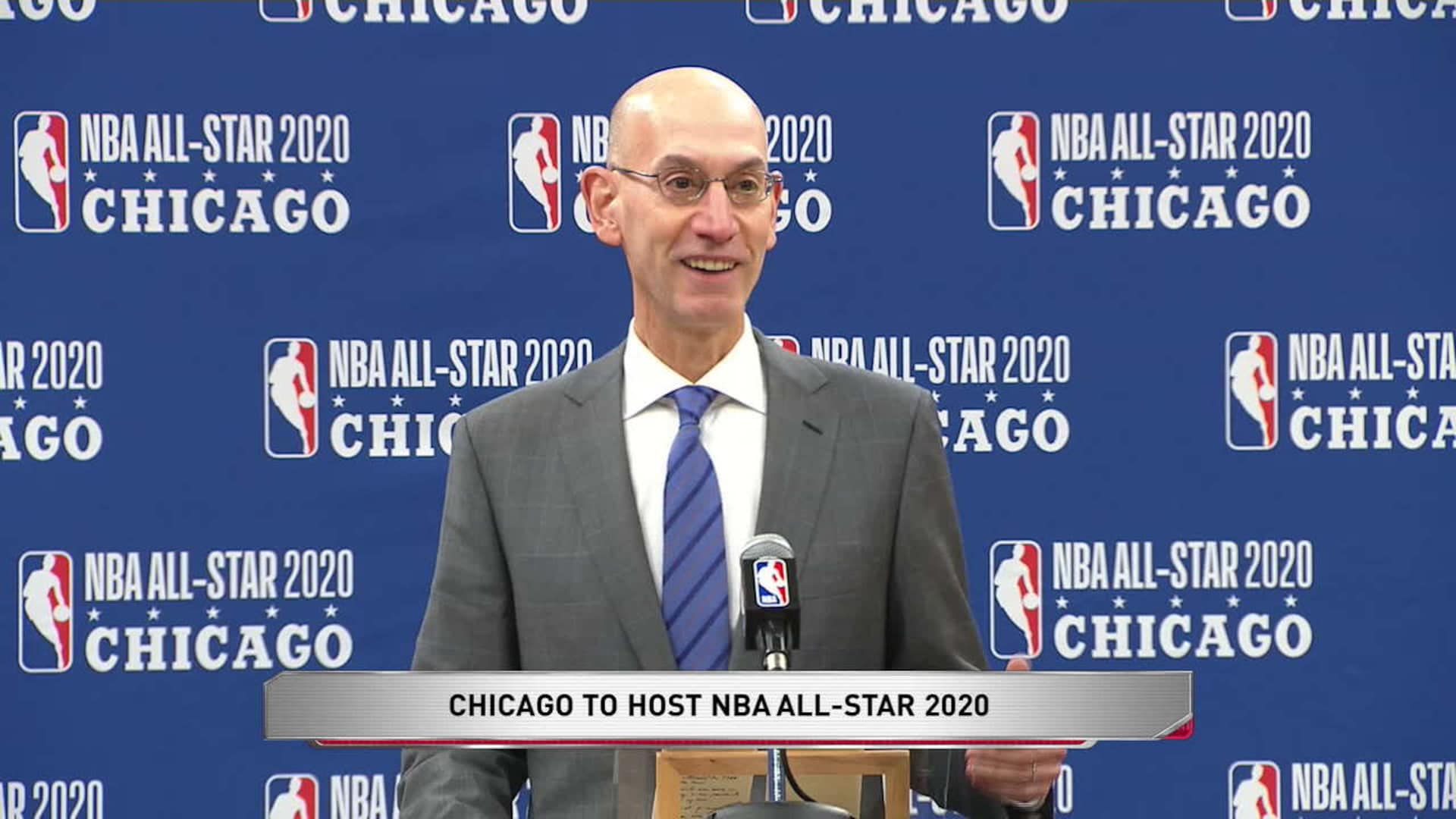 Nba All Star Halftime Show 2020.Nba Selects Chicago To Host All Star 2020 Nba Com