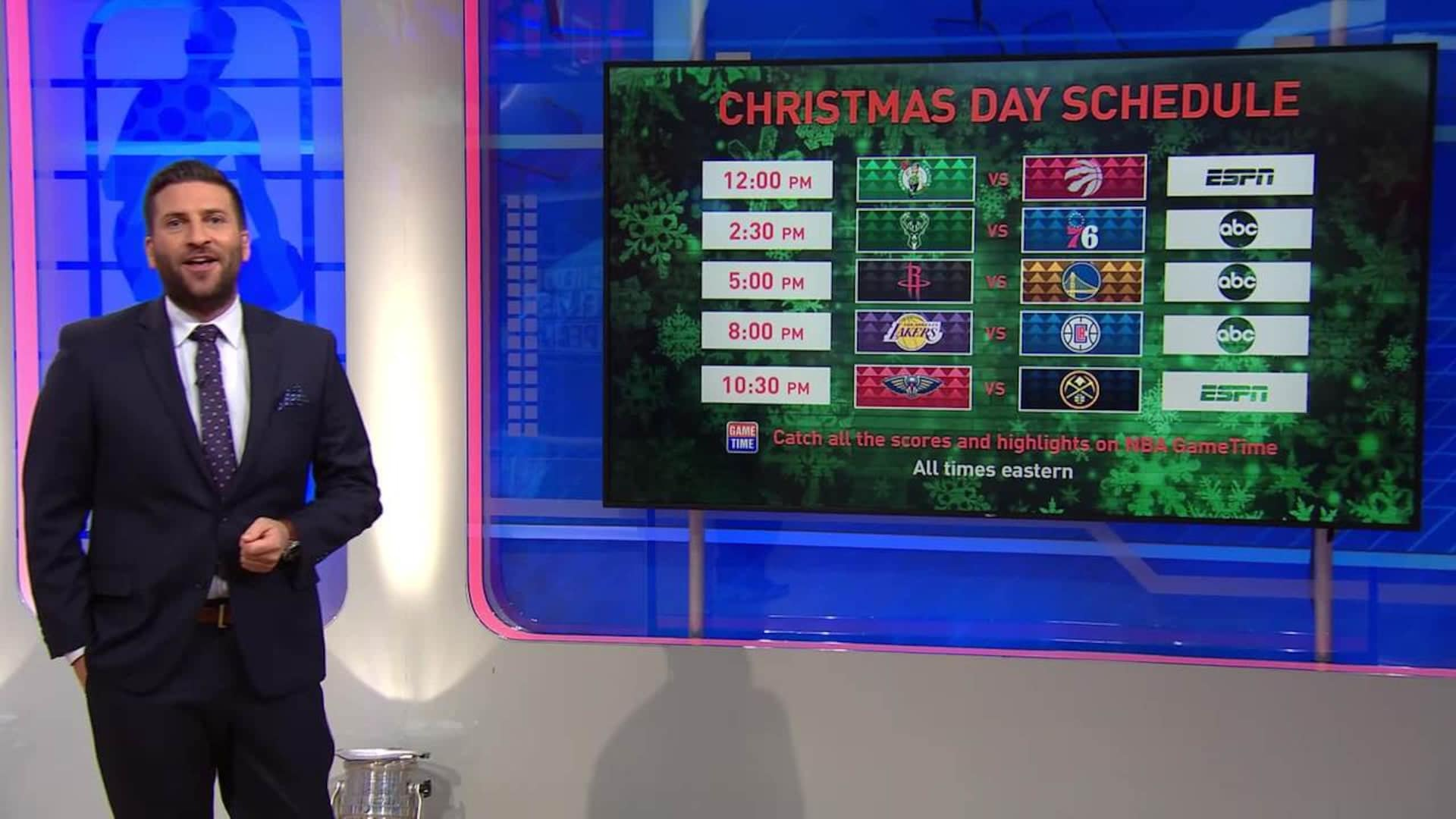 Nba Schedule Christmas Day 2020 NBA unveils 2019 20 game and national television schedules | NBA.com