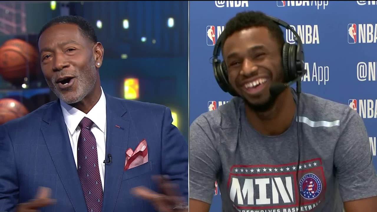 Andrew Wiggins: 'I'm very confident in my game right now'