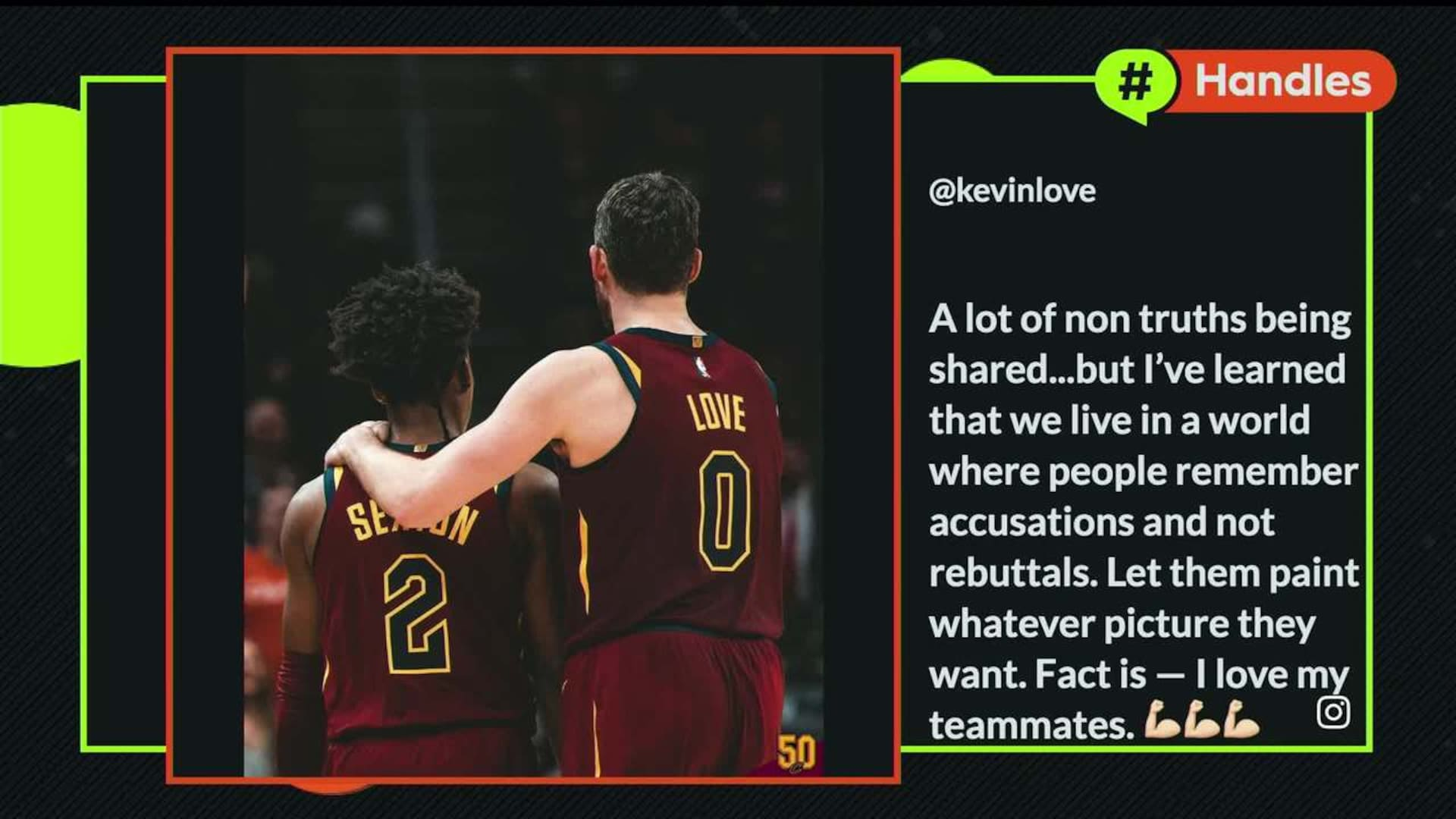 Channing Frye On Kevin Love S Situation With Cavs Nba Com