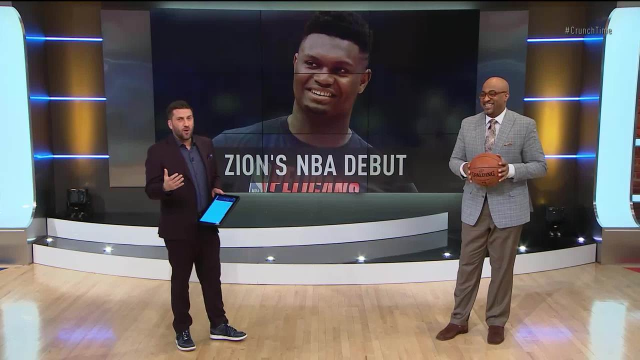 Zion Williamson defers early, takes over late in impressive debut