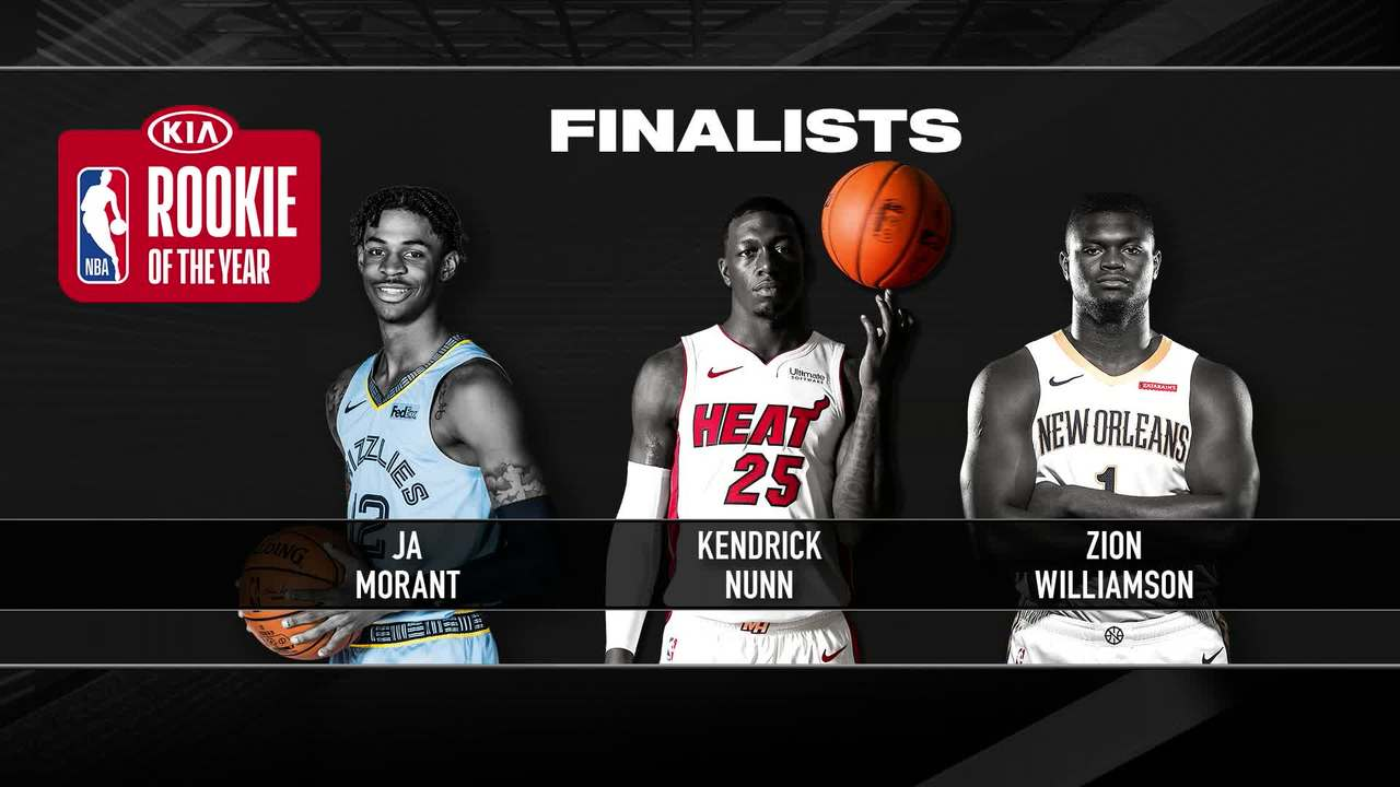 NBA Award Finalists | Rookie of the Year