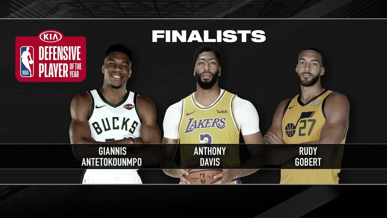 NBA Award Finalists | Defensive Player of the Year