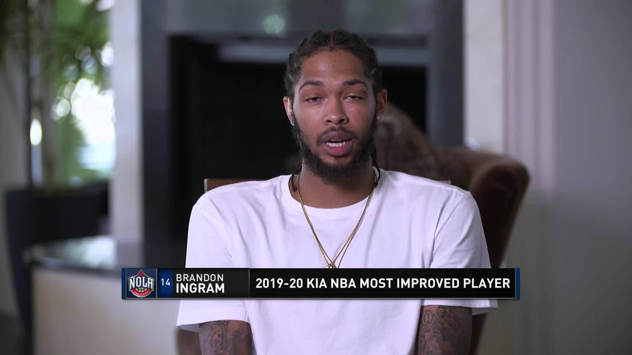 Brandon Ingram named Most Improved Player of the Year