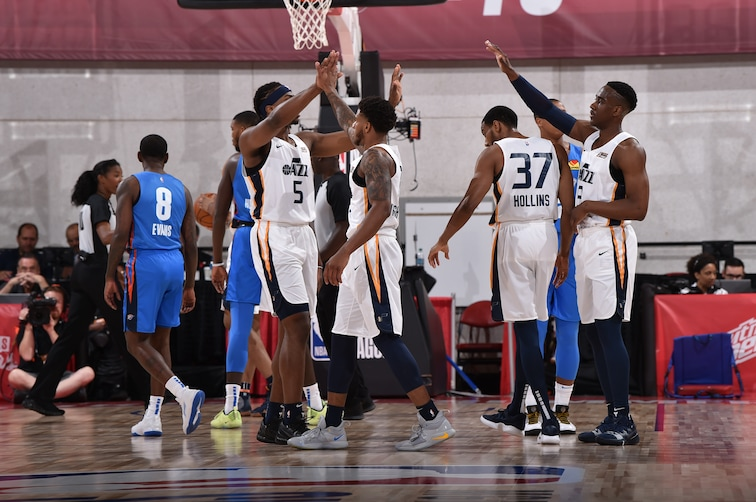 The Utah Jazz see 5 games of action in NBA Summer League