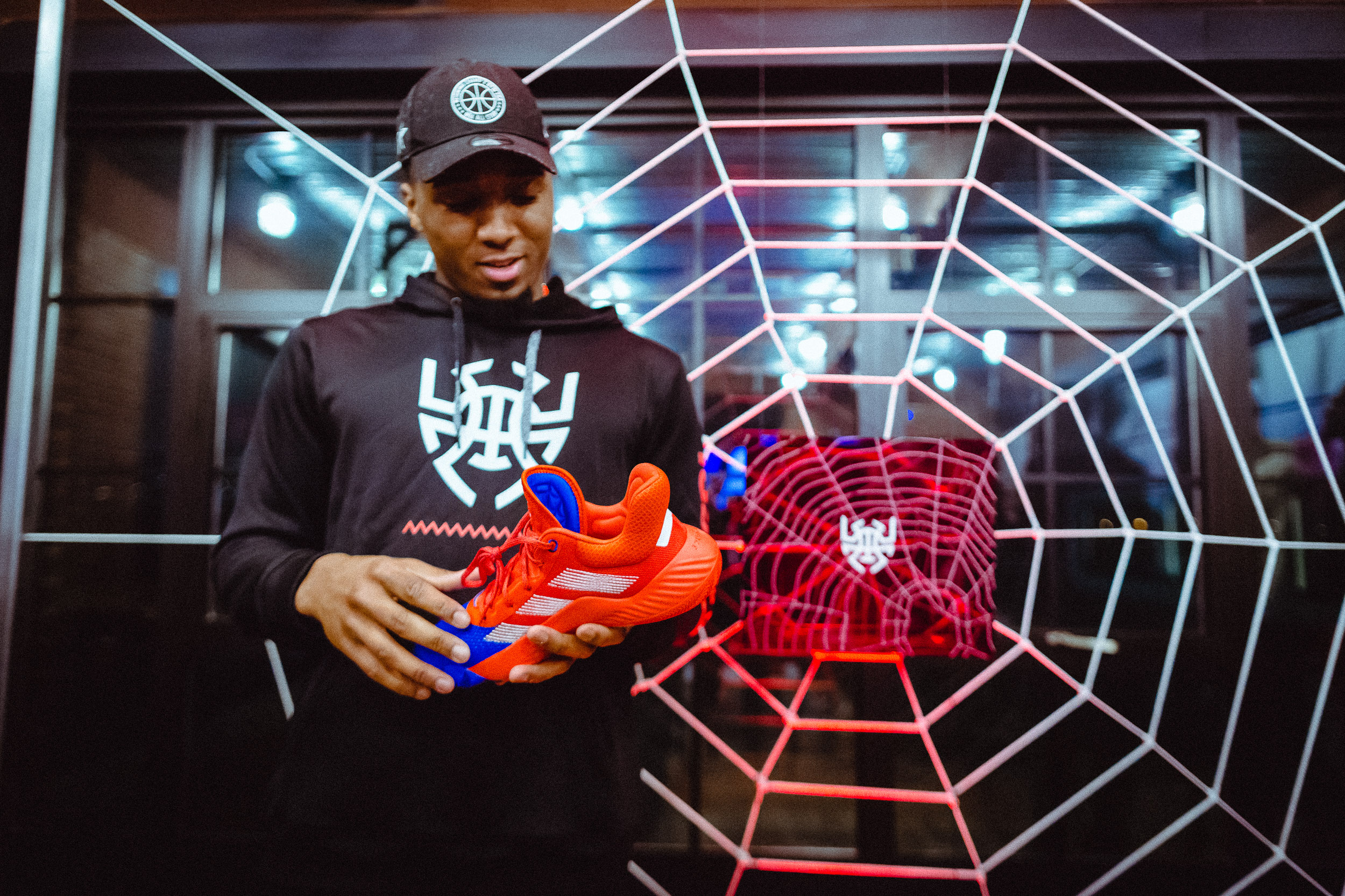27b1a845ef9 Adidas unveils Donovan Mitchell s first signature shoe