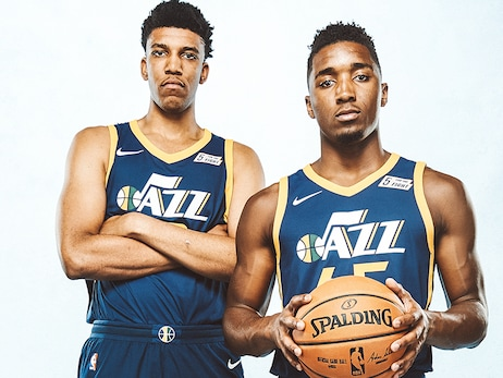 Jazz exercise team options on Bradley and Mitchell