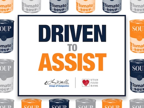 Larry H. Miller Group of Companies Announces Massive Food Drive at LHM Dealerships, Megaplex Theatres and Sports Facilities